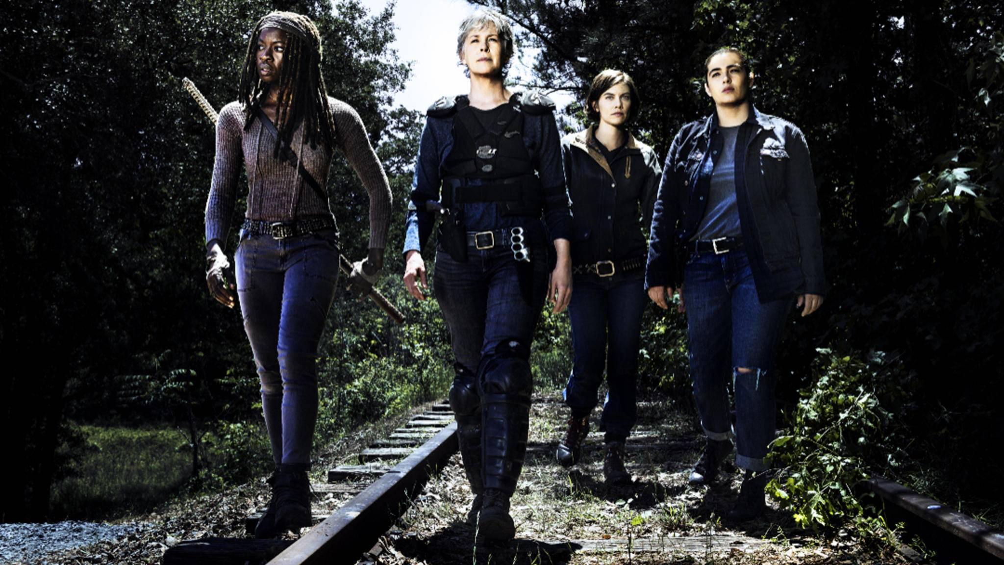 """Von wegen ladylike: Der Rest von Staffel 8 wird für eine der """"The Walking Dead""""-Damen zur Zerreißprobe."""