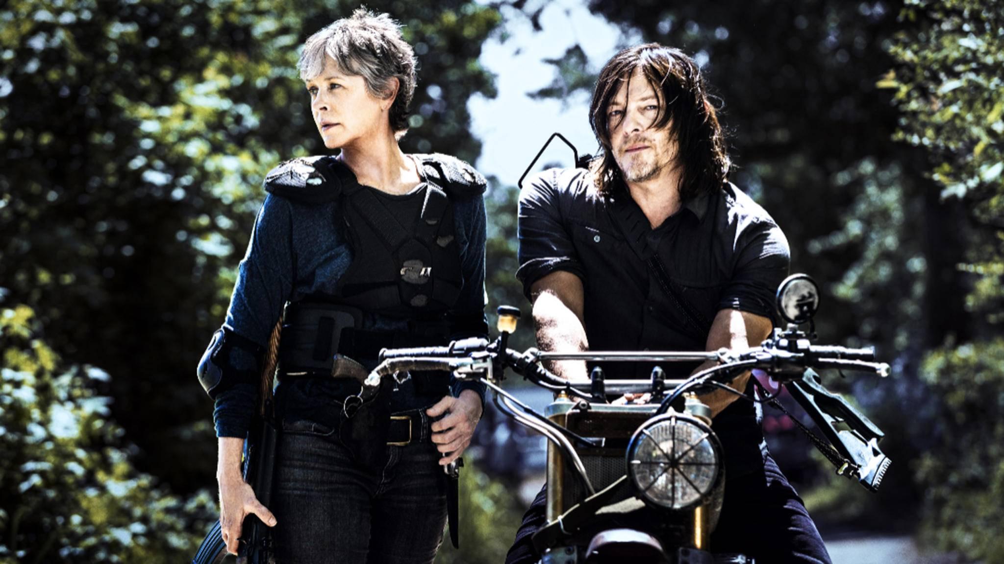 """Auch Carol und Daryl werden in Staffel 8 von """"The Walking Dead"""" wieder eine wichtige Rolle spielen."""