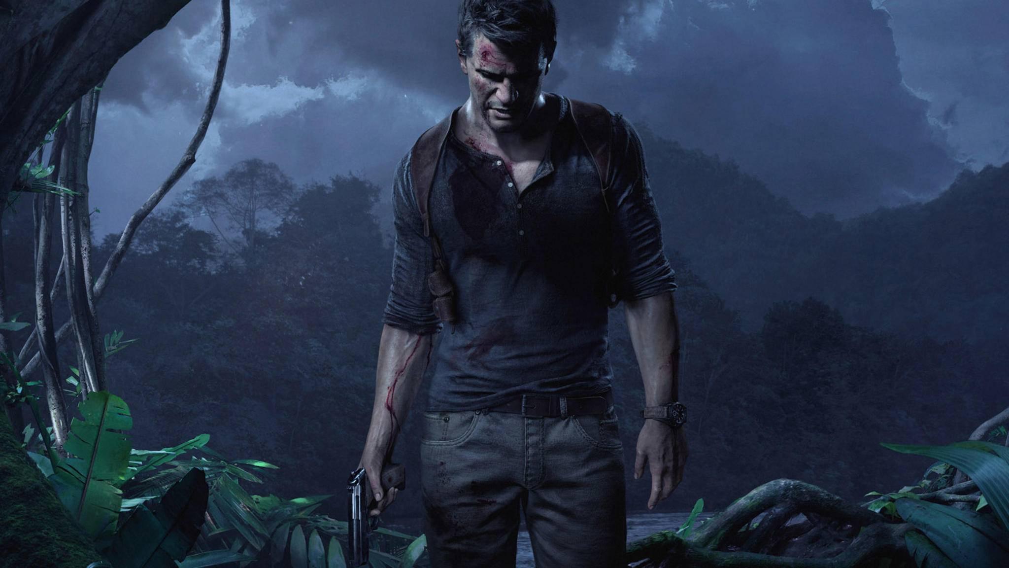 """Da isser traurig, der Nathan: Mit Kumpels """"Uncharted 3"""" auf der PS3 zocken geht nicht mehr lange."""