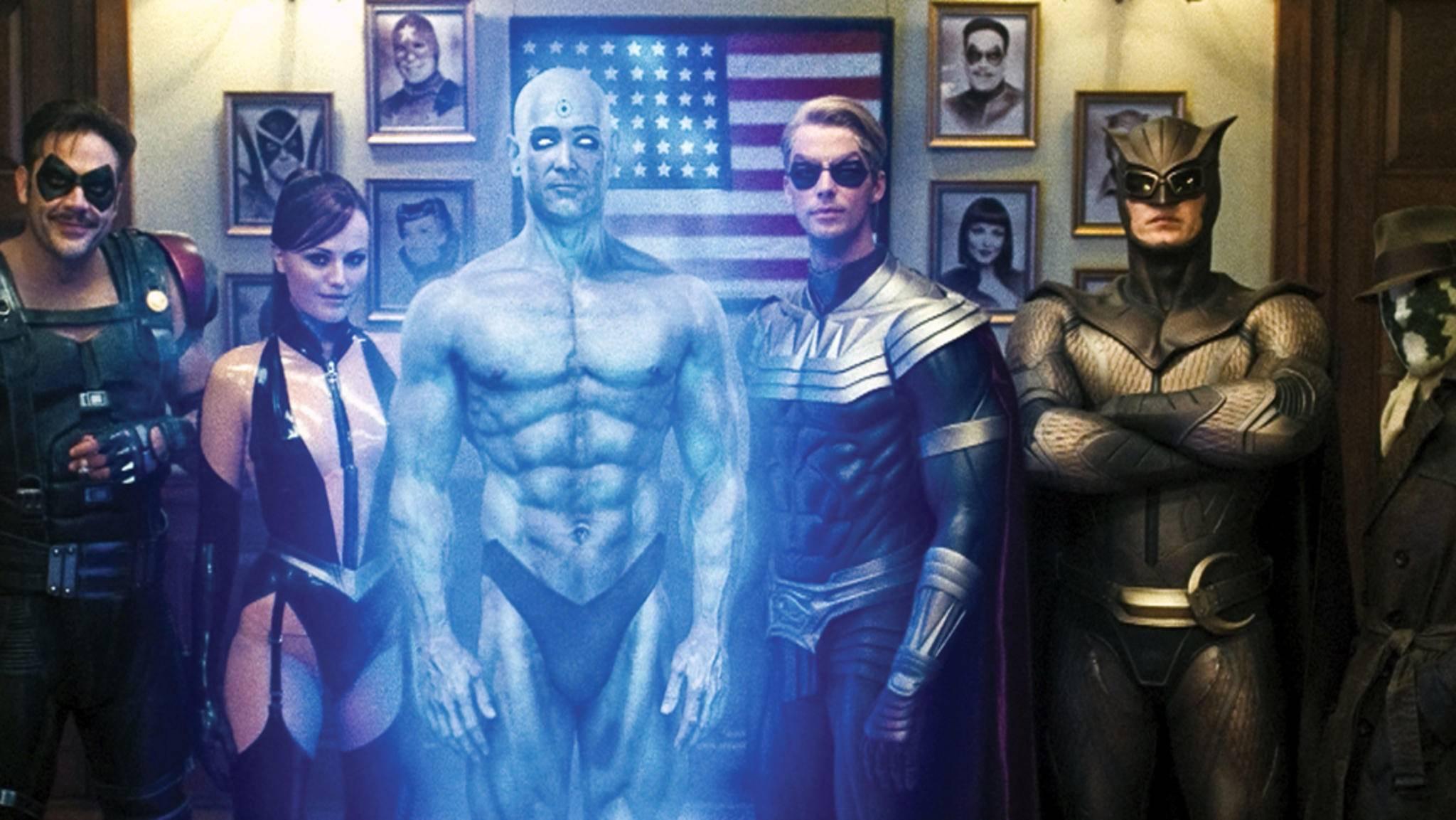 """2009 bahnten sich die """"Watchmen"""" den Weg auf die große Leinwand, jetzt gehen sie in Serie."""