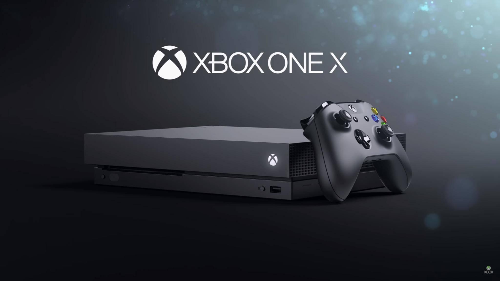 Die Xbox One X erscheint am 7. November.