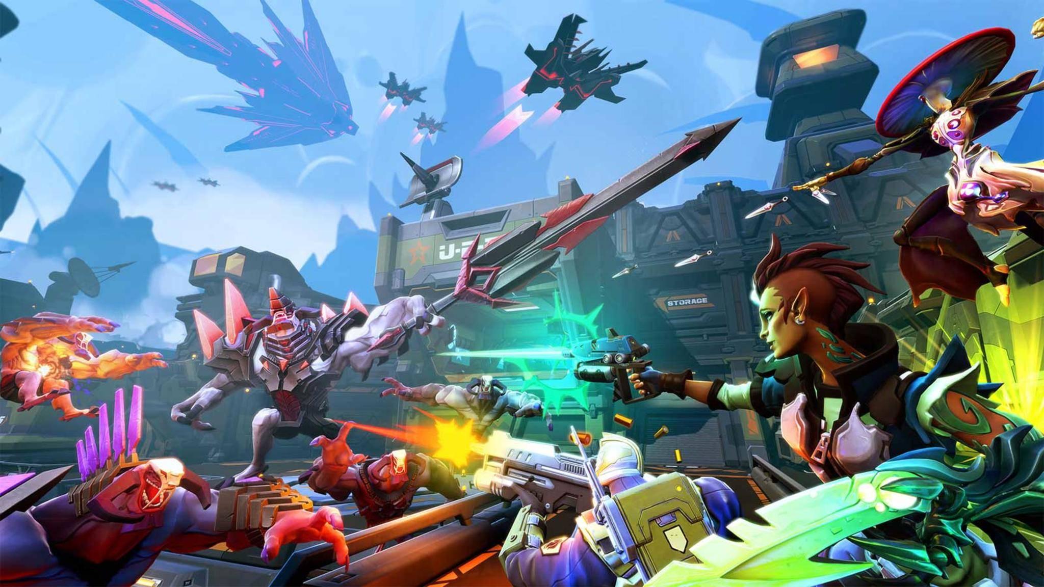 """Der eingestellte Multiplayer-Ego-Shooter """"Battleborn"""" ist ein Warnschuss für die Publisher."""