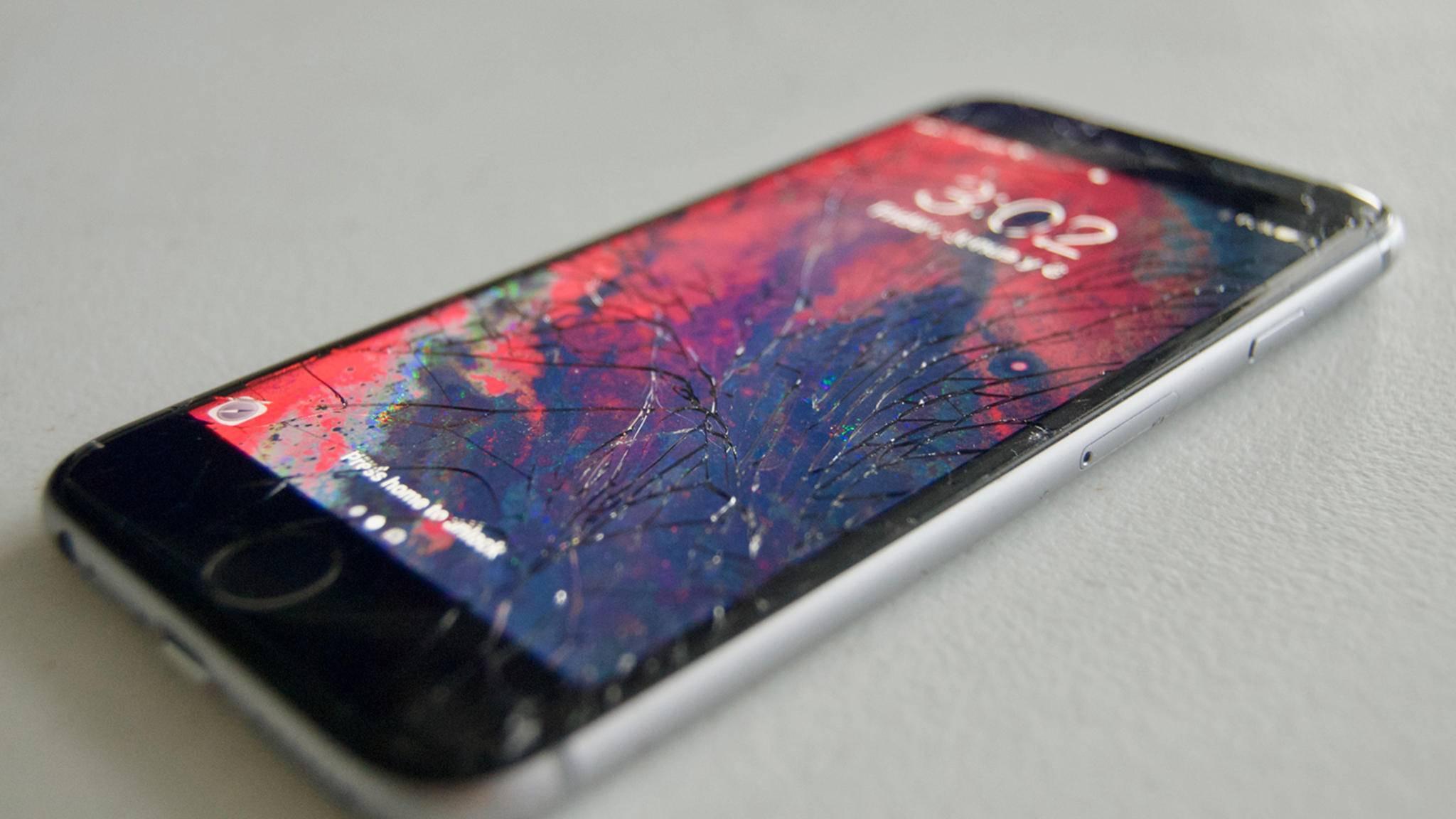 Ein derart beschädigtes iPhone 6 dürfte Apple nicht kostenlos reparieren.