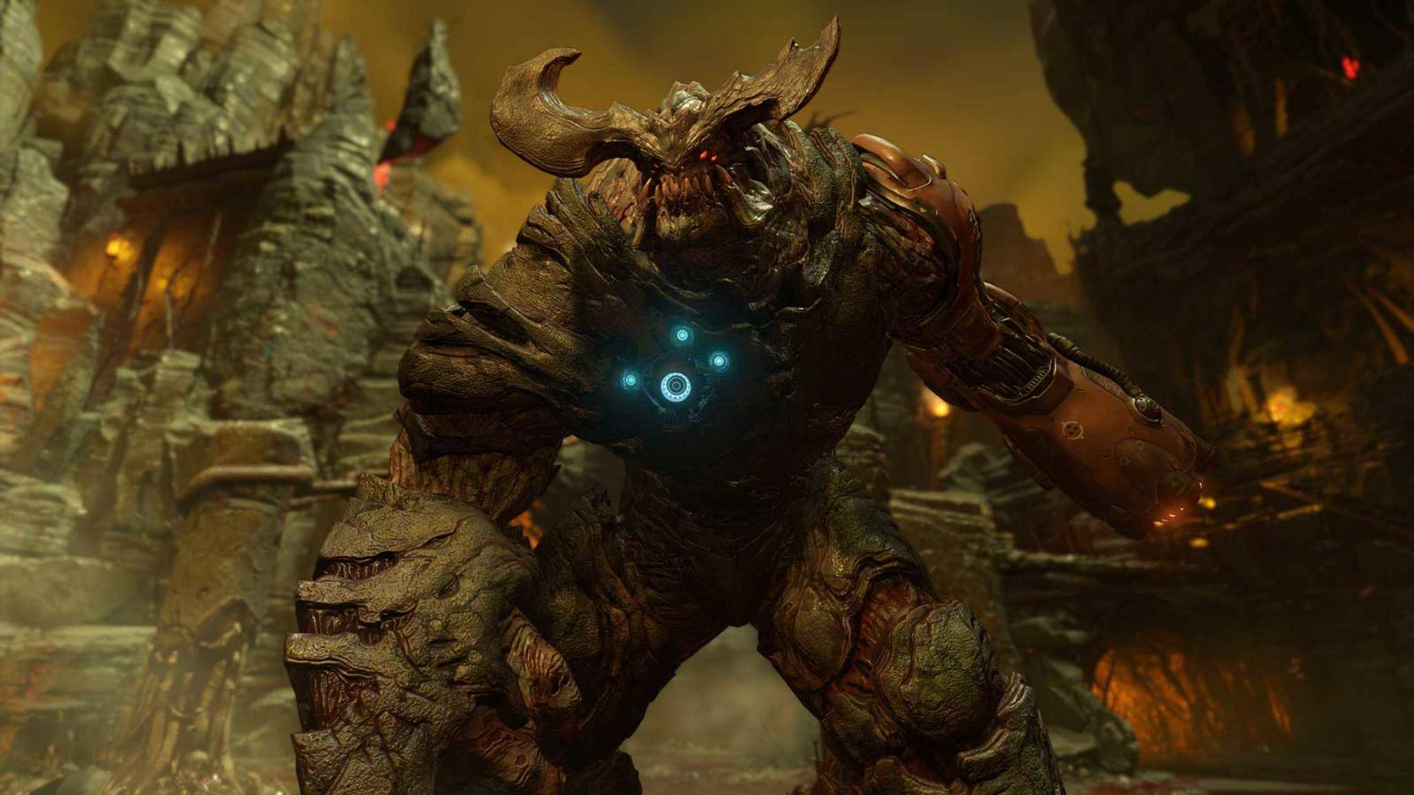 Doom auf der Nintendo Switch
