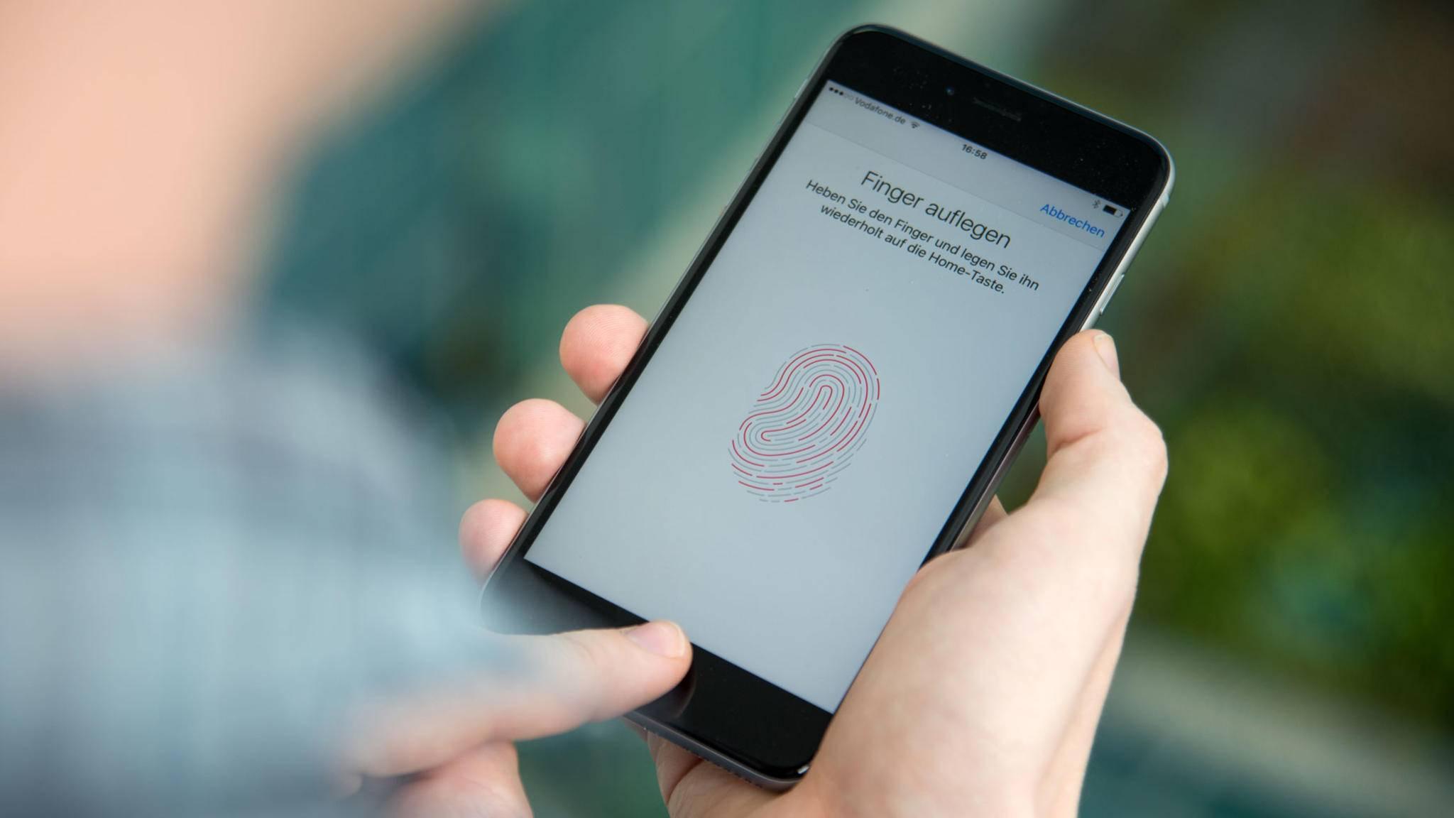 Der Fingerabdrucksensor ist zwar relativ sicher, aber absolute Sicherheit gibt es nicht.