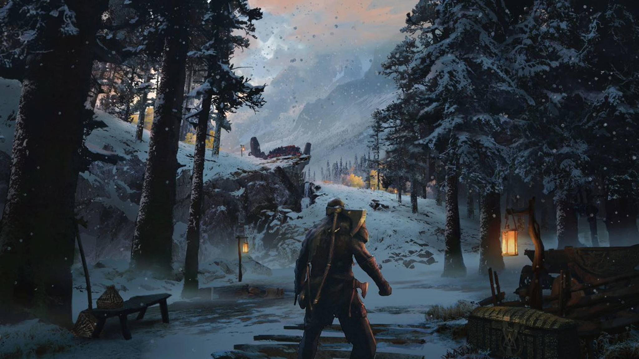 """Das neue """"God of War"""" spielt im hohen Norden."""