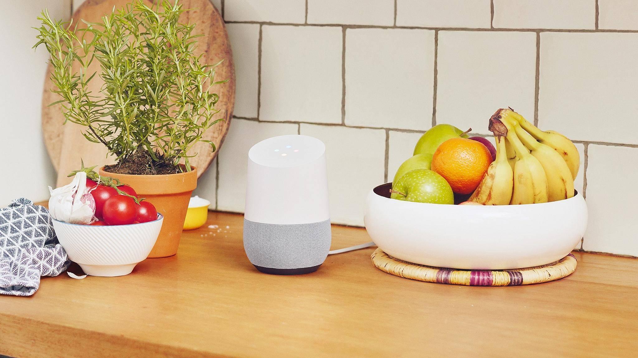 Mit Google Home hält KI in unsere Wohnzimmer Einzug.