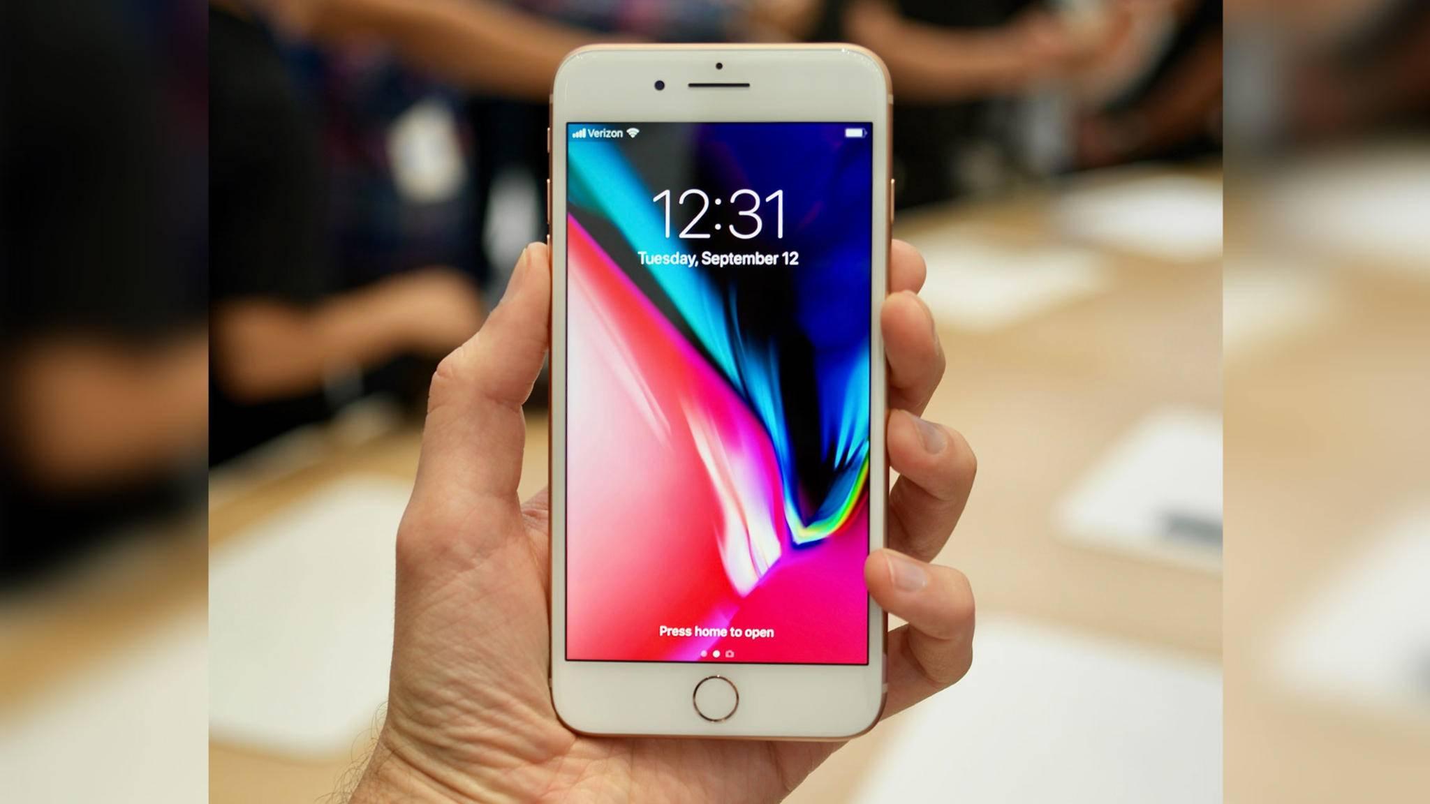Welches iPhone kaufen: Das iPhone 8 ist der verbesserte Nachfolger des iPhone 7.