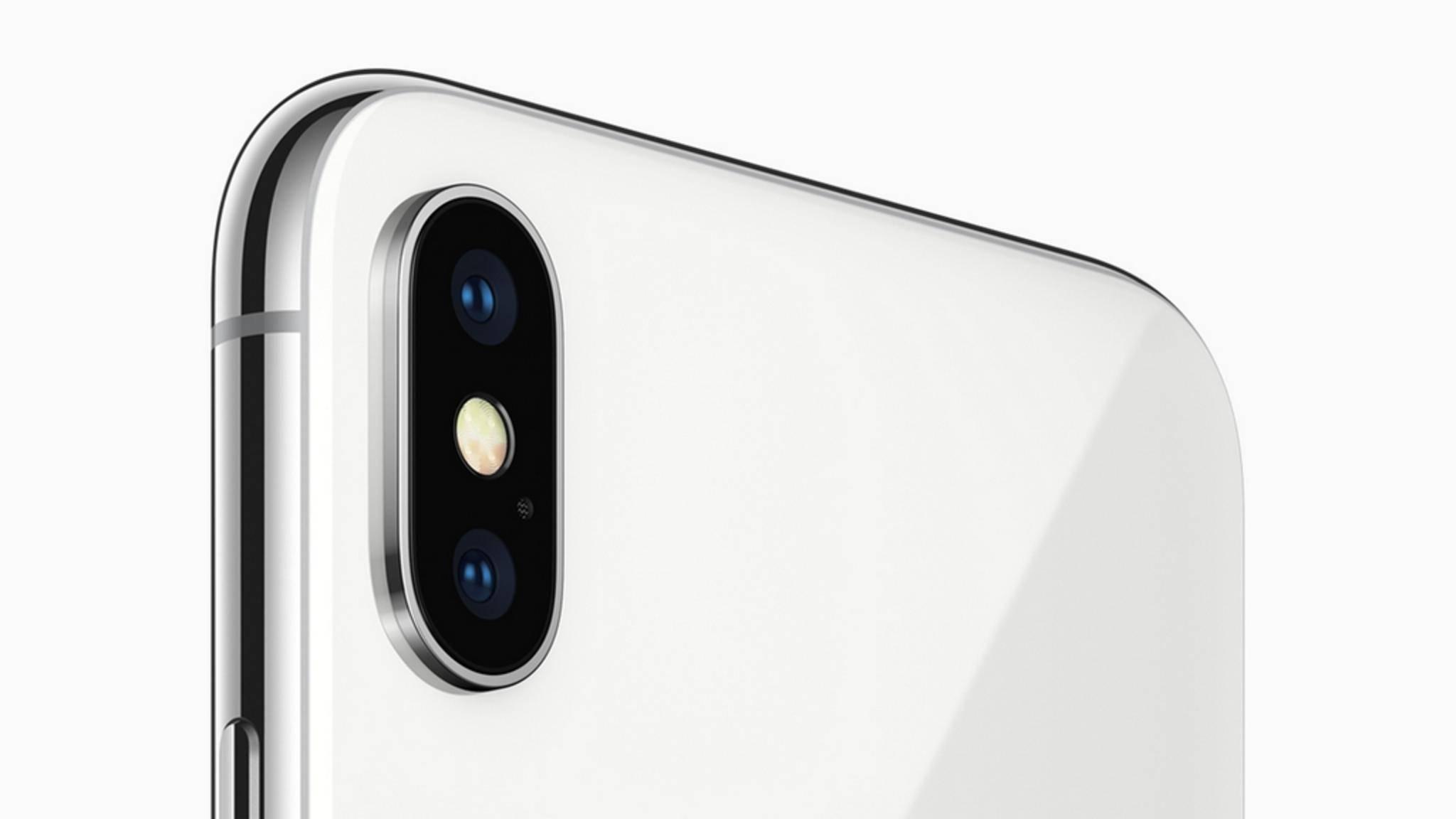 Das iPhone X hat als erstes Modell eine vertikale Dual-Kamera.