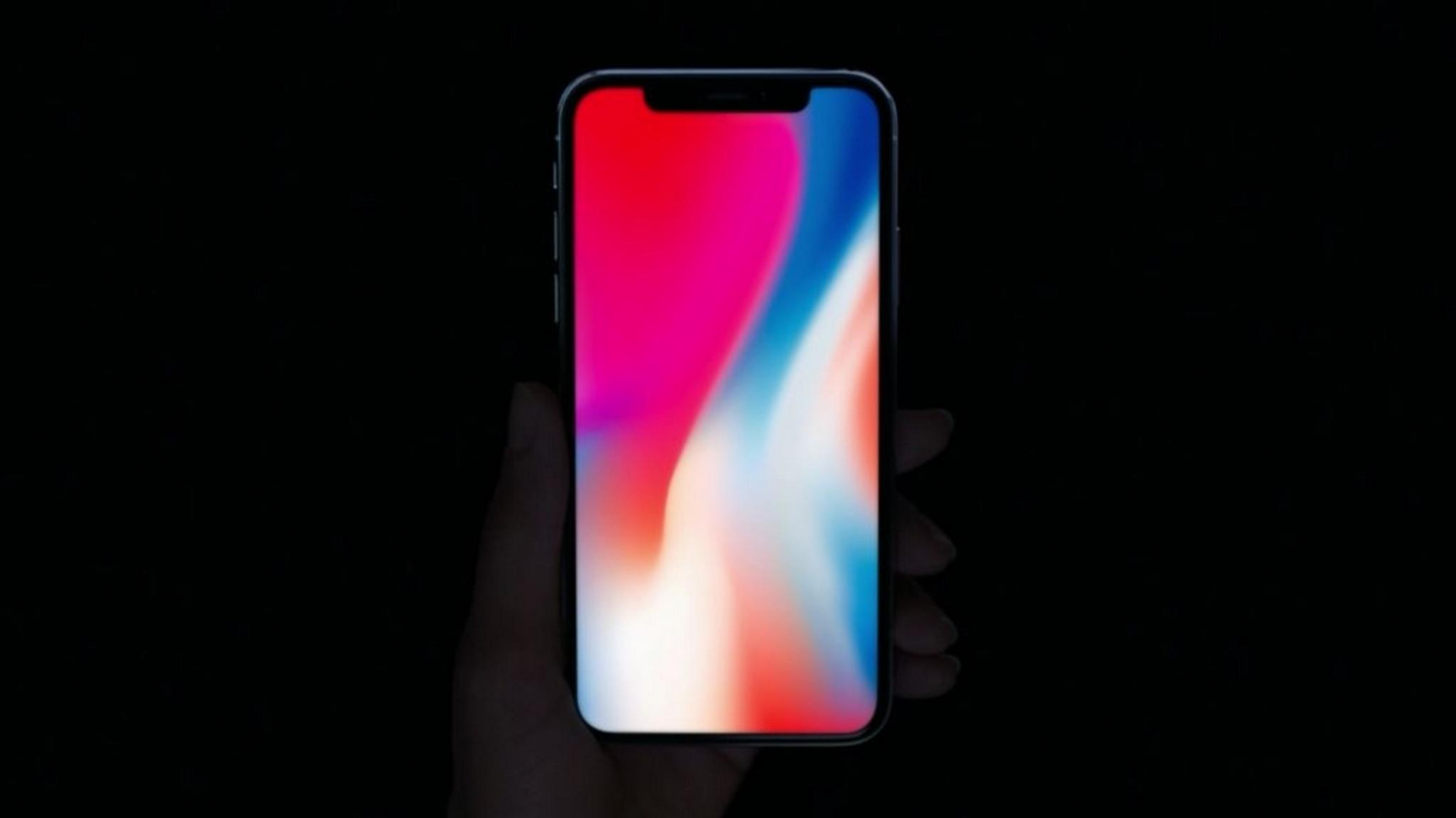 Das iPhone X.