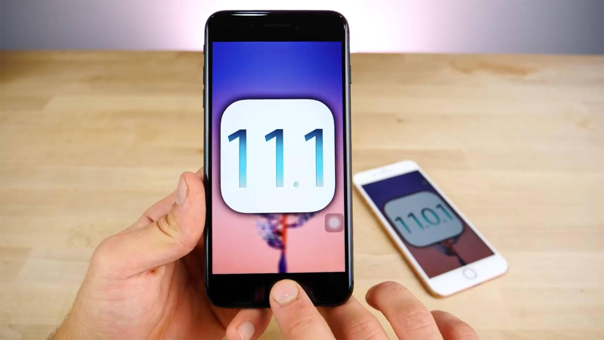 Die erste Entwickler-Beta von iOS 11.1 wurde bereits veröffentlicht.
