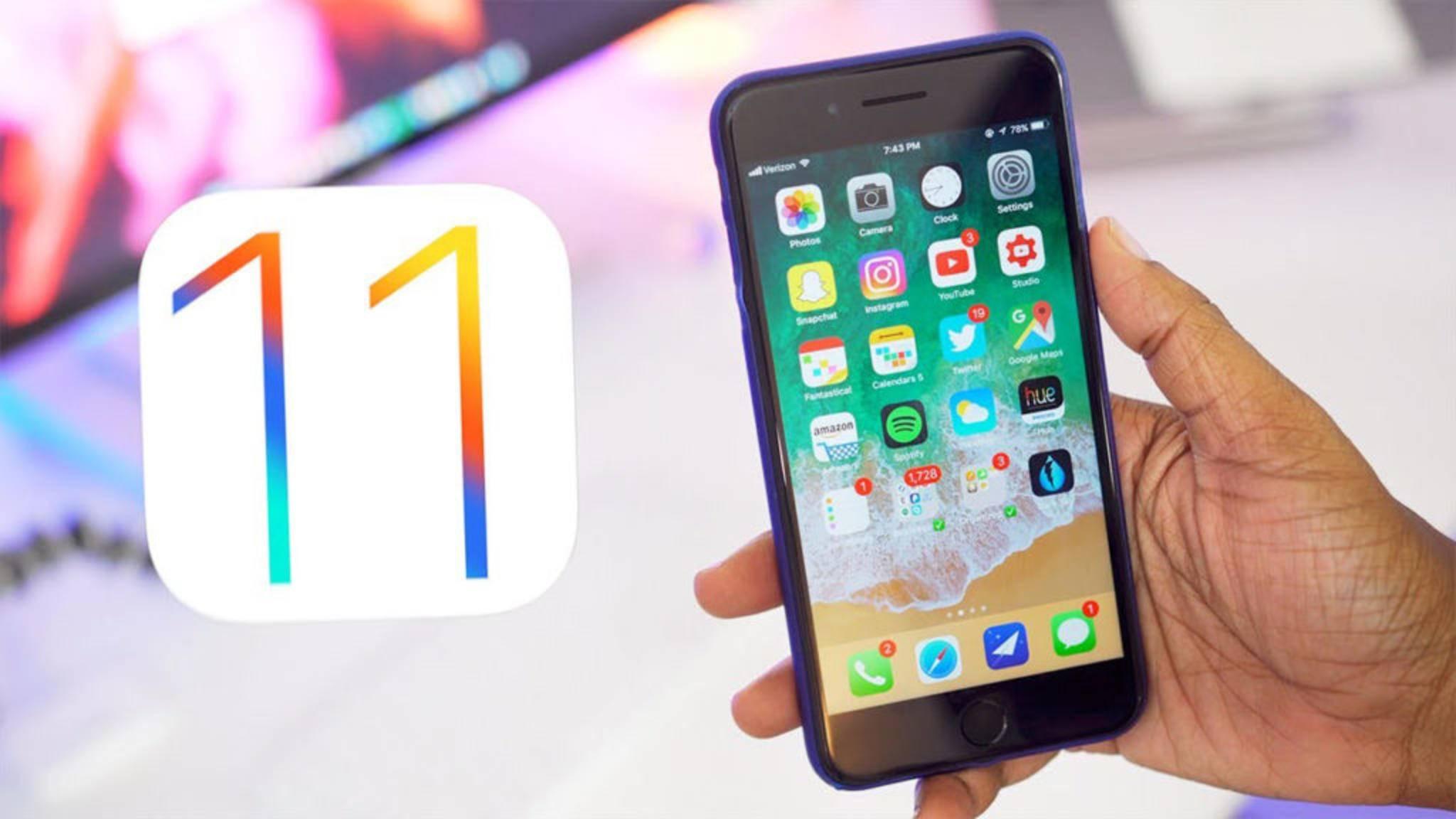 iOS 11 hilft Dir bei der Suche nach mehr freiem Speicherplatz mit dem Auslagern von Apps.