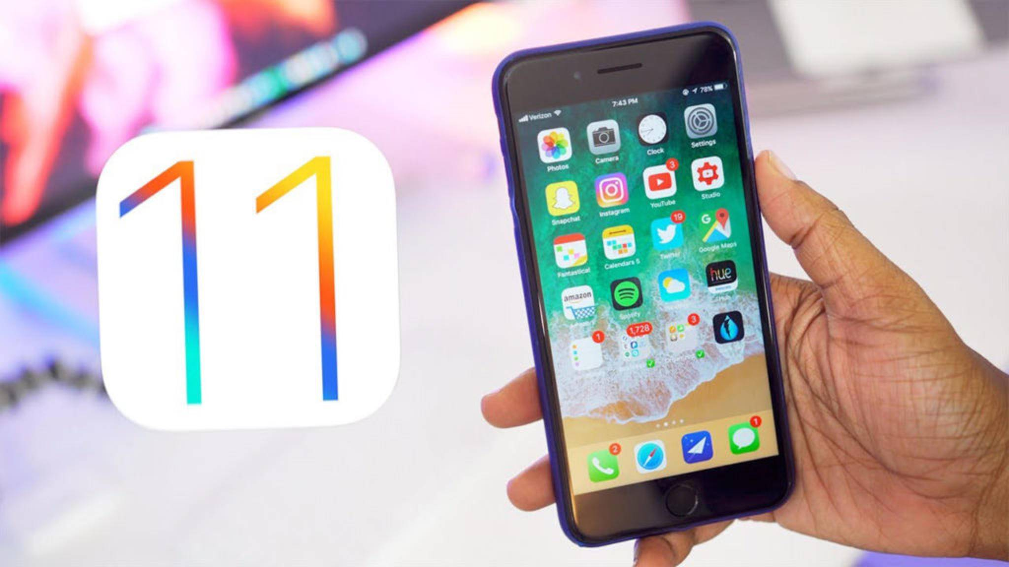 Nutzer berichten, dass viele Apps unter iOS 11 sehr viel länger laden.