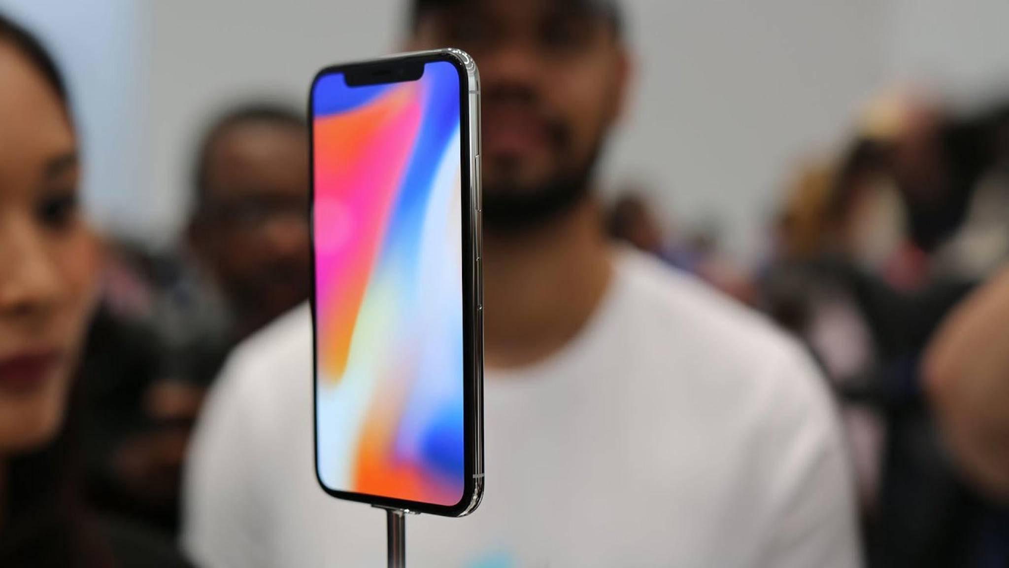 Wer ein iPhone X vorbestellen möchte, muss sich auf lange Lieferzeiten einstellen.