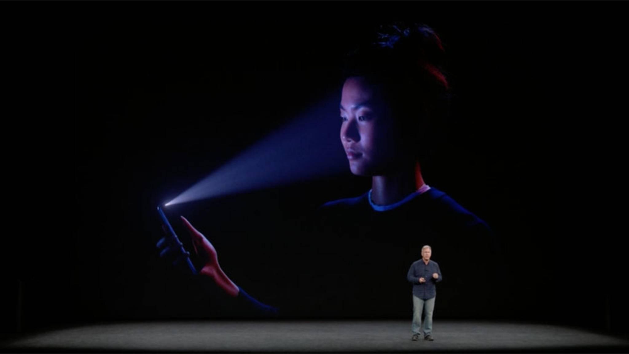 Face ID ist eine neue und sichere Methode, um Dein Smartphone zu entsperren.
