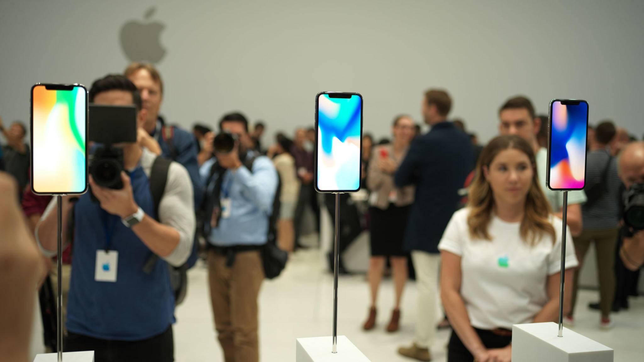 Das iPhone X kann nicht in jeder Hinsicht mit dem Galaxy Note 8 mithalten.