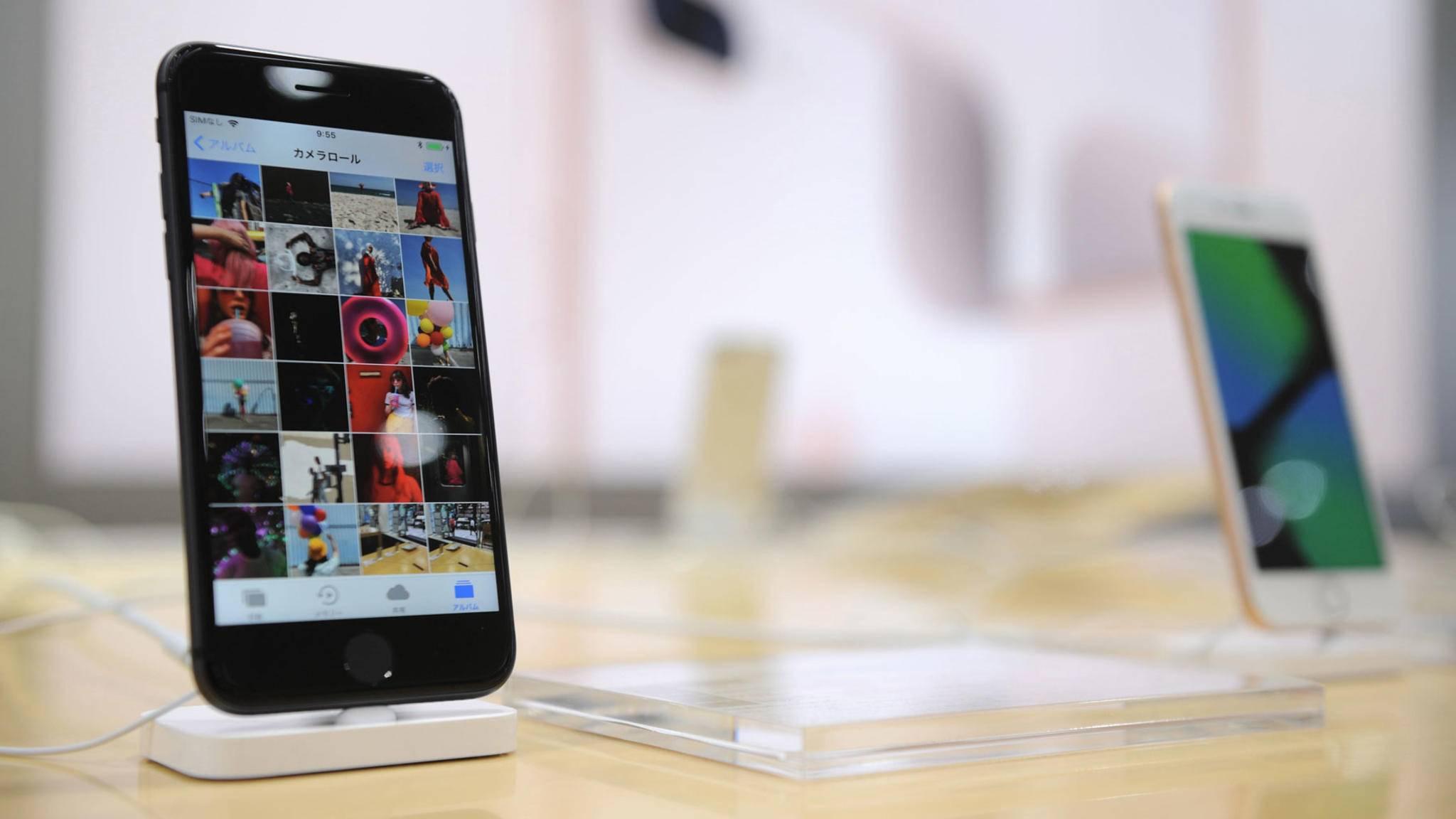 Kostet etwas mehr in der Herstellung als noch das iPhone 7: Das neue iPhone 8.