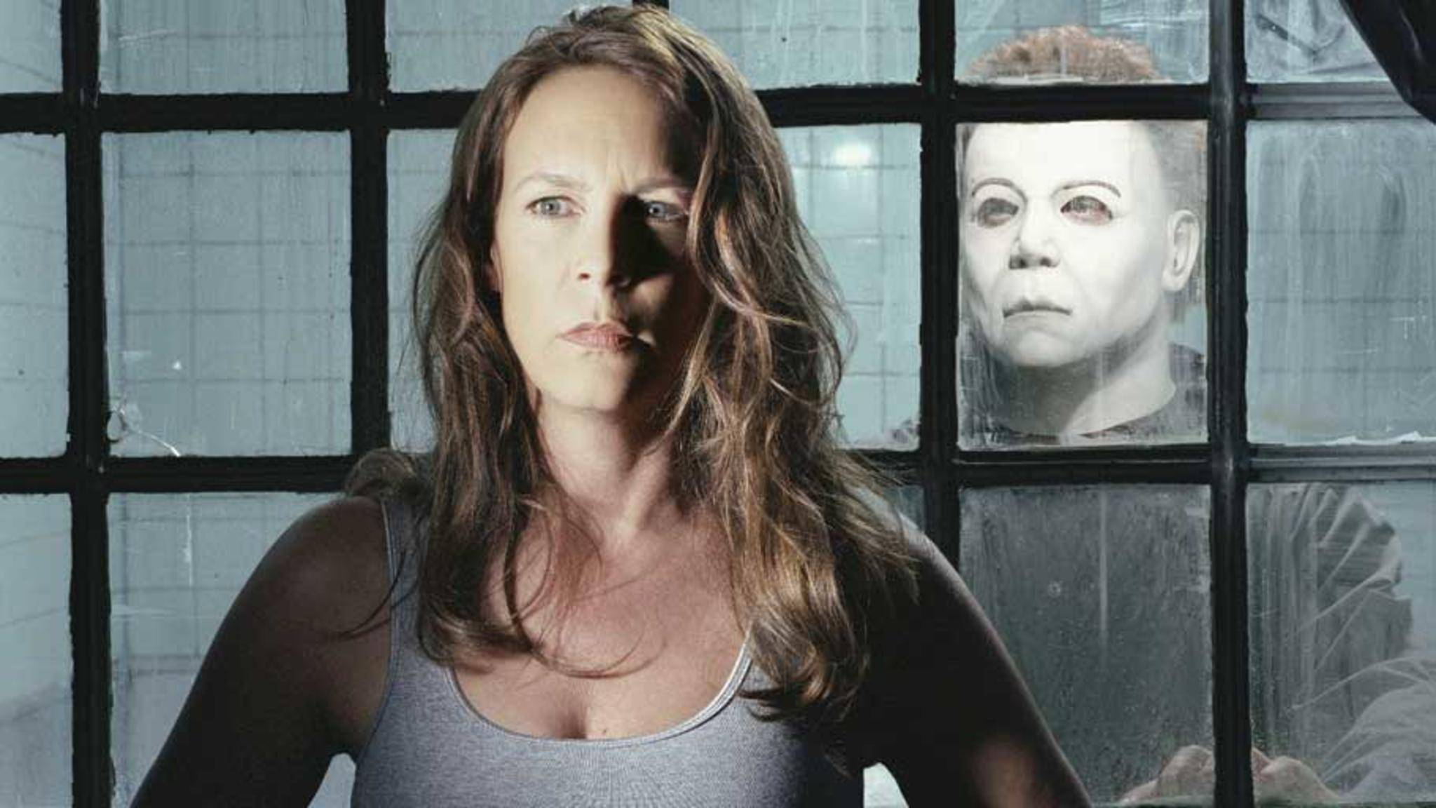 "Jaime Lee Curtis in ""Halloween: Resurrection""."