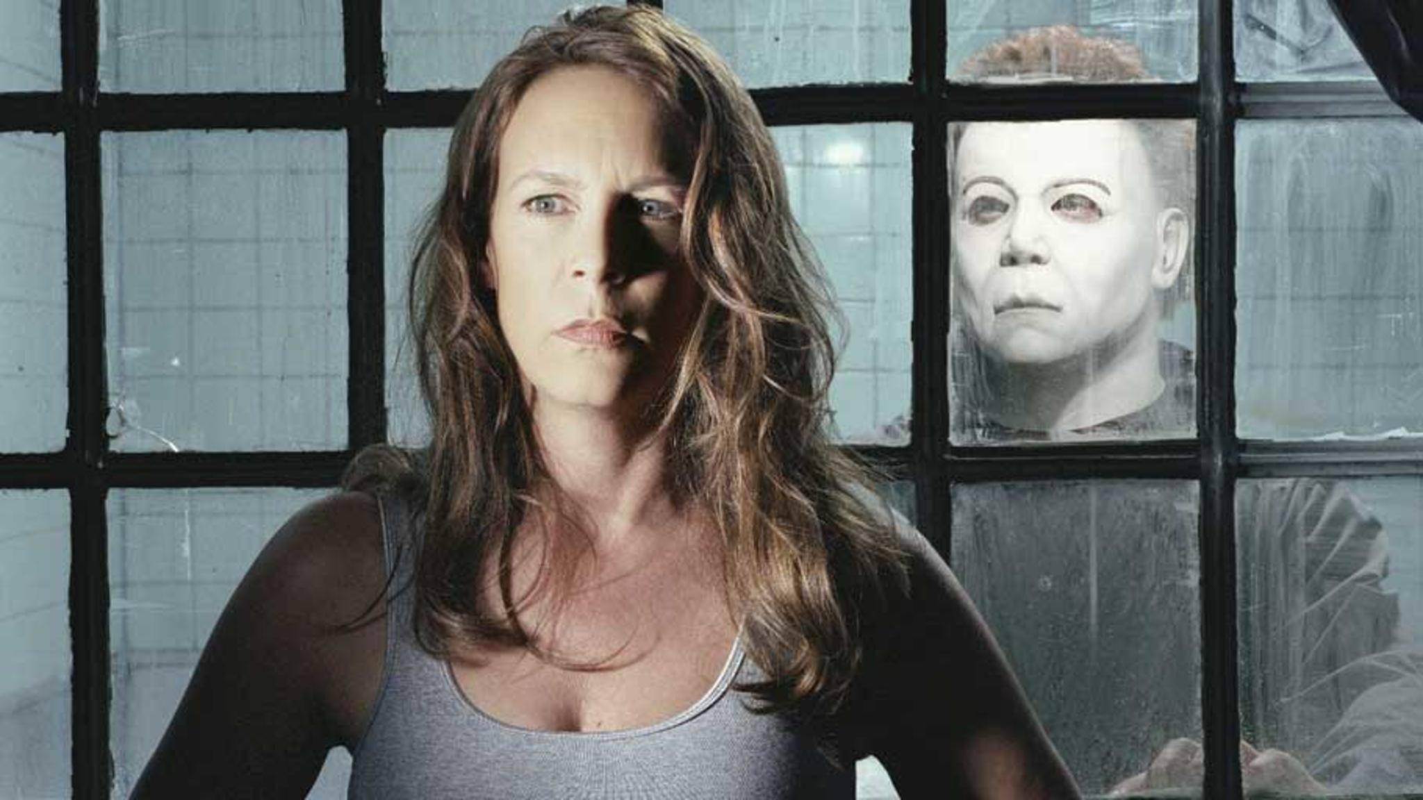 "Jaime Lee Curtis in ""Halloween: Resurrection""."