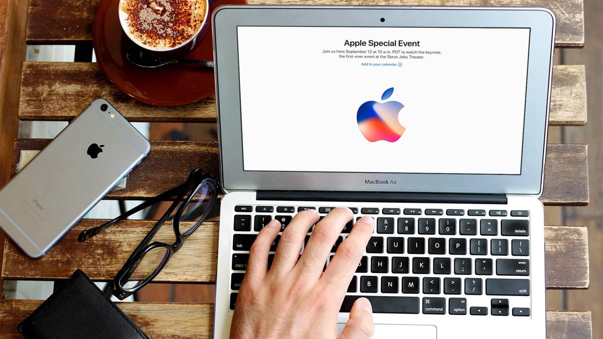 In dieser Woche verschickte Apple die Einladungen für die iPhone-8-Keynote.