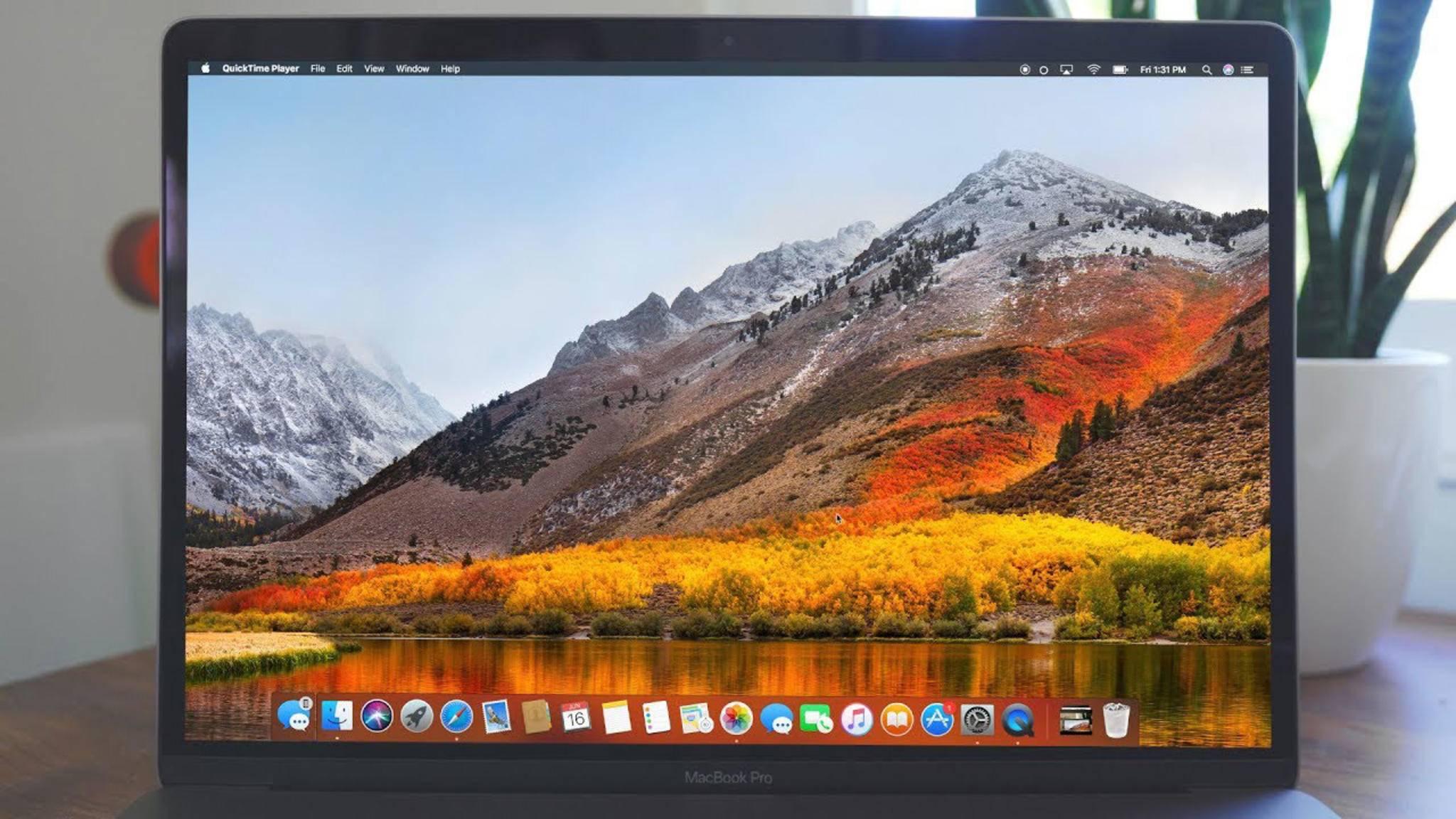 macOS High Sierra führt das neue Dateisystem APFS ein – aber nicht für alle Macs.