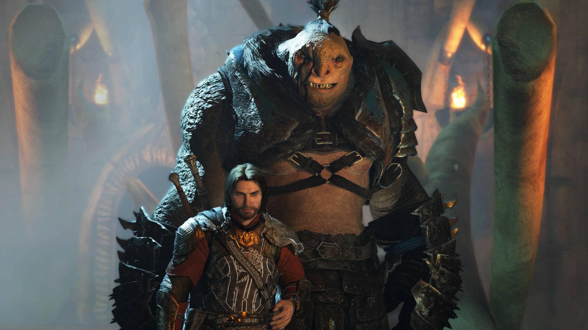 Waldläufer Talion hat die dicksten Orks an seiner Seits – und schickt sie bald in endlose Schlachten.