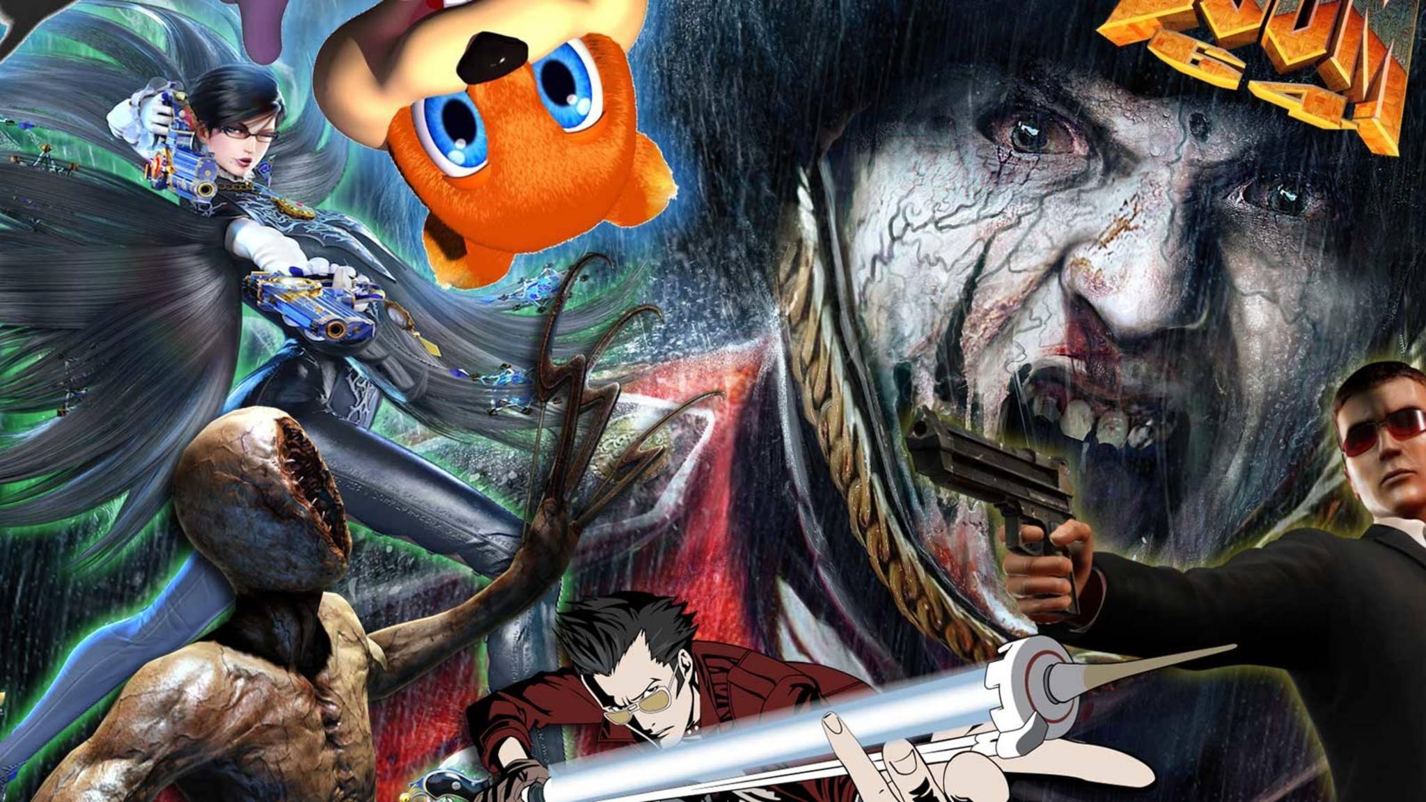 Spiele für Erwachsene auf Nintendo-Konsolen