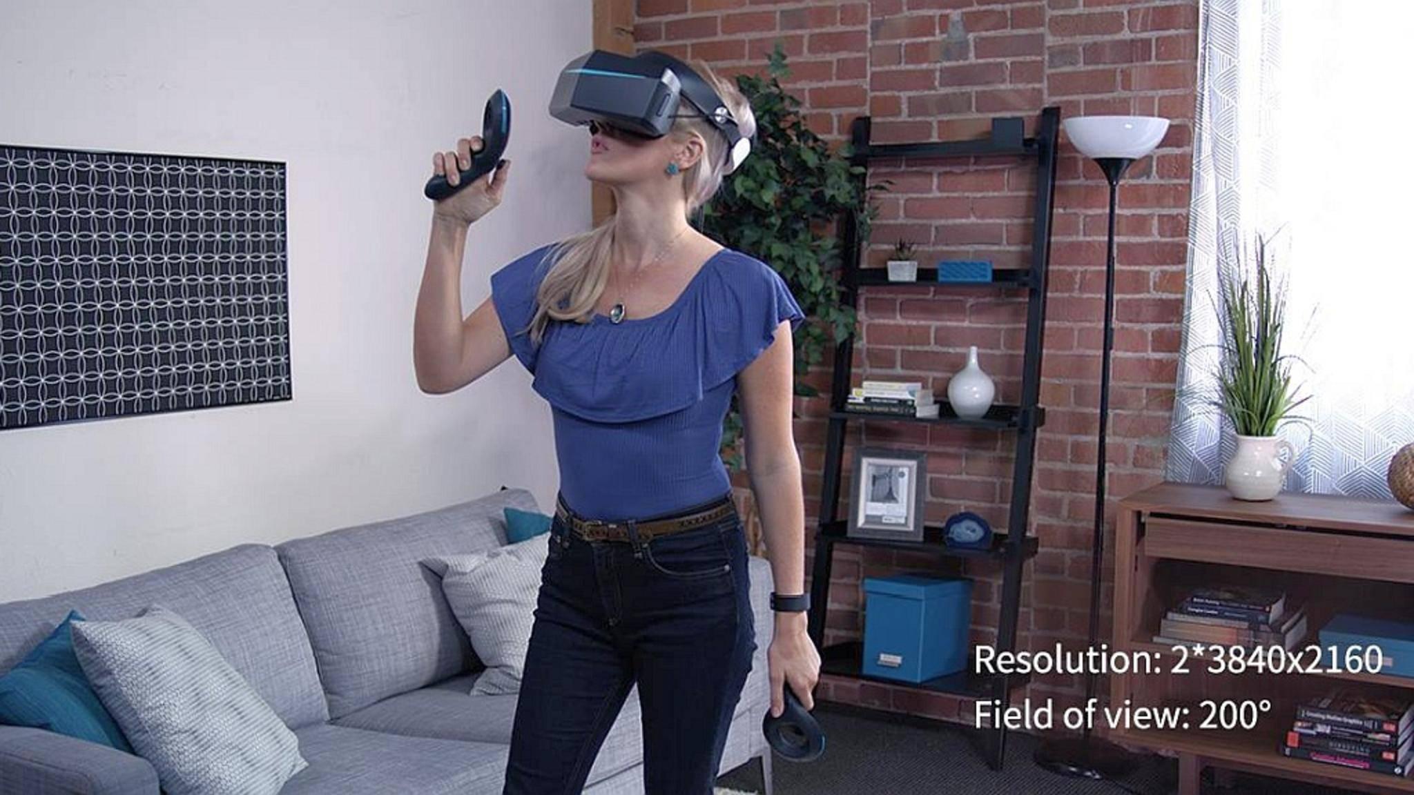 Revolution im VR-Bereich? Die Pimax 8K wurde auf Kickstarter in kürzester Zeit finanziert.