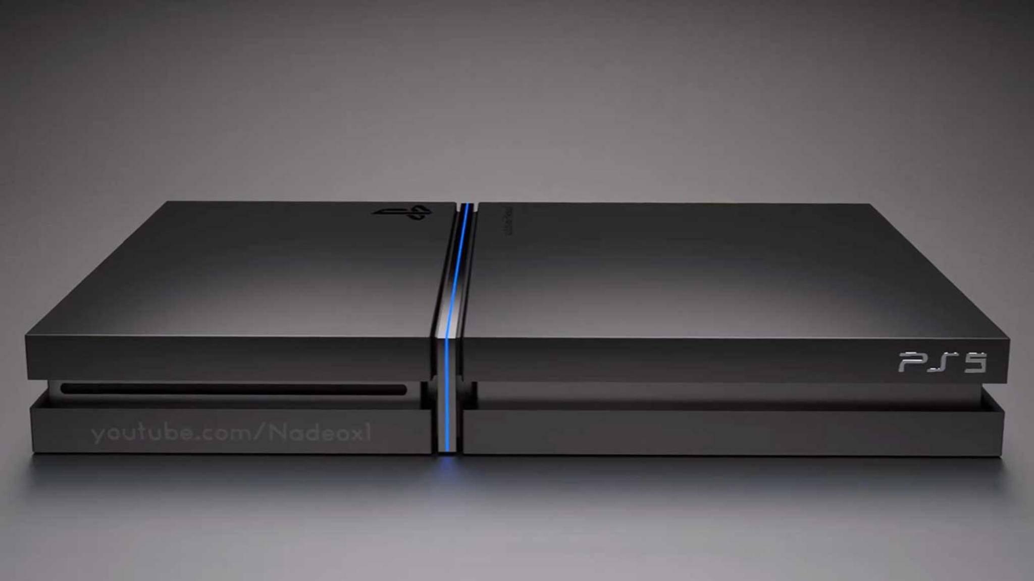 Wird die PS5 wirklich so aussehen?