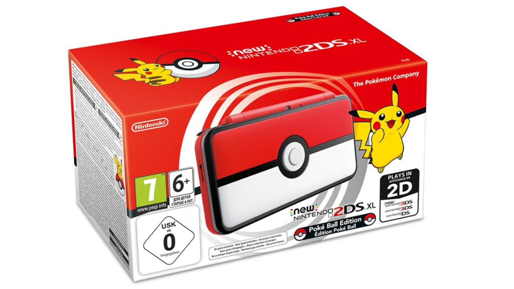 Nintendo hat neue Sondereditionen von 2DS XL und Nintendo Switch präsentiert.