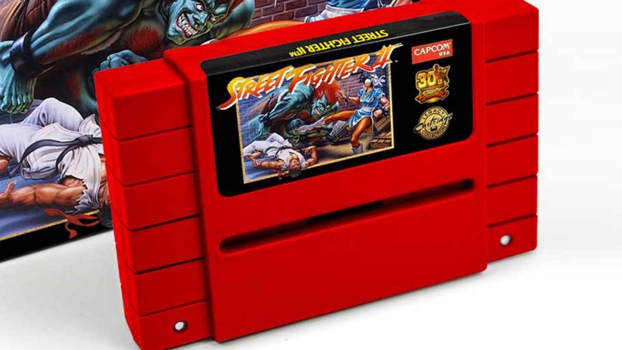 """Von dieser """"Street Fighter 2""""-Edition gibt es lediglich 4500 Stück."""