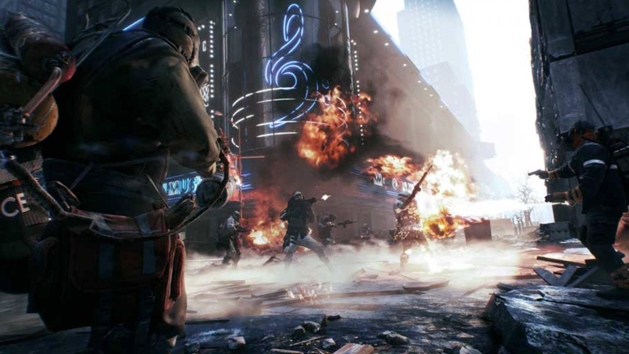 """Hat Microsoft eine bessere Grafik von """"The Division"""" auf der PS4 verhindert?"""
