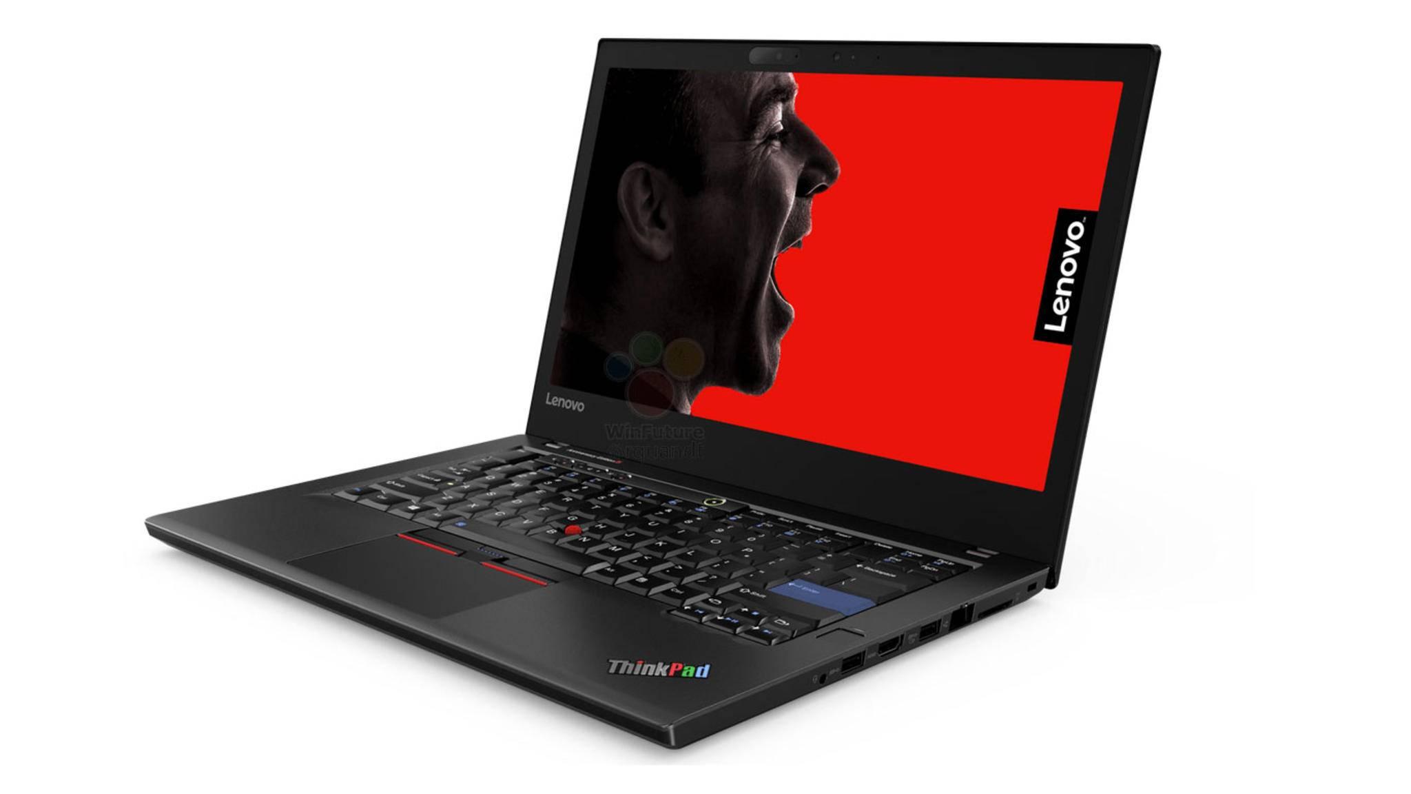 So soll das Jubiläums-Modell von Lenovo aussehen.