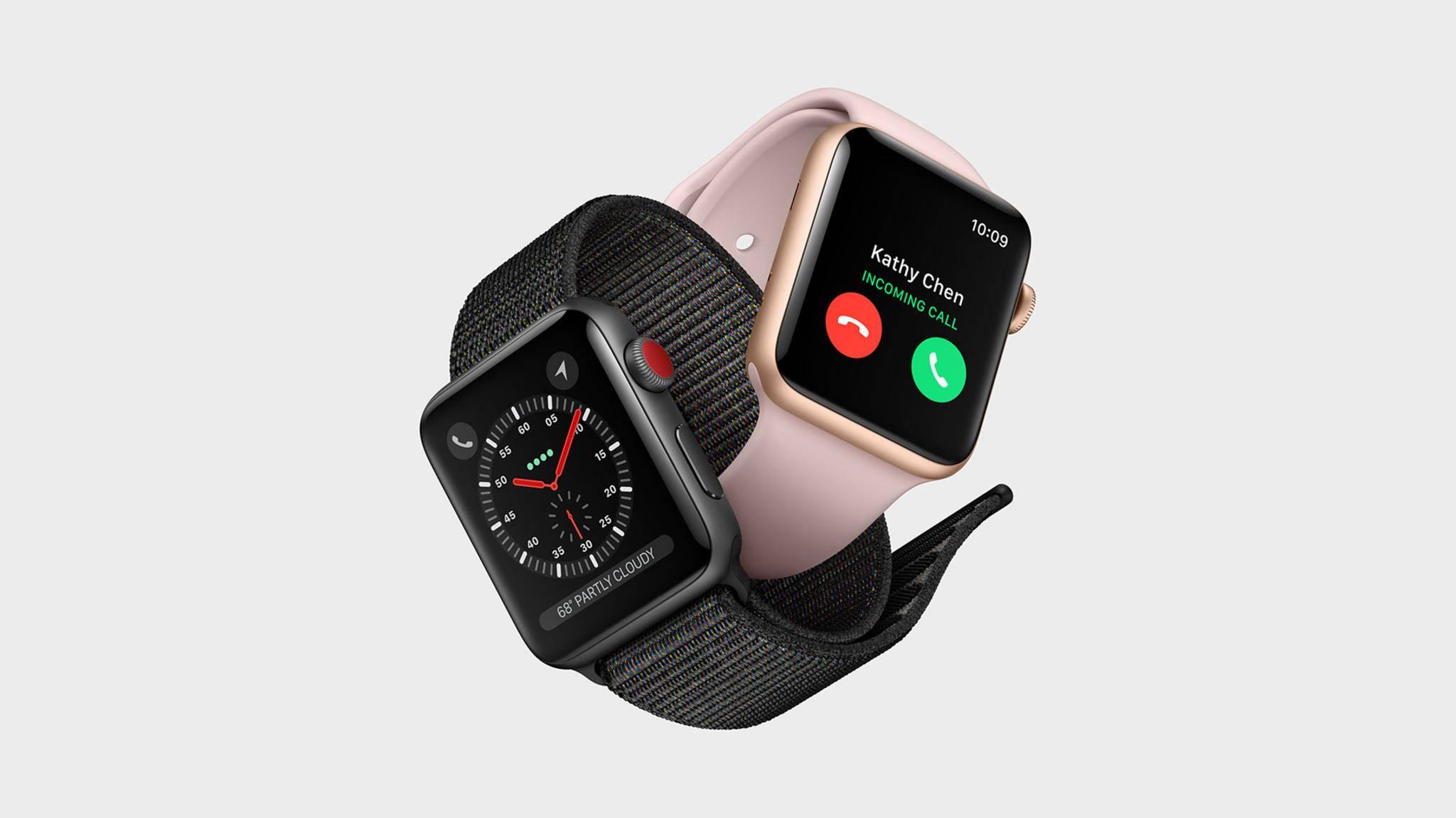 Das dritte Quartal 2017 war der Apple Watch wohlgesonnen.