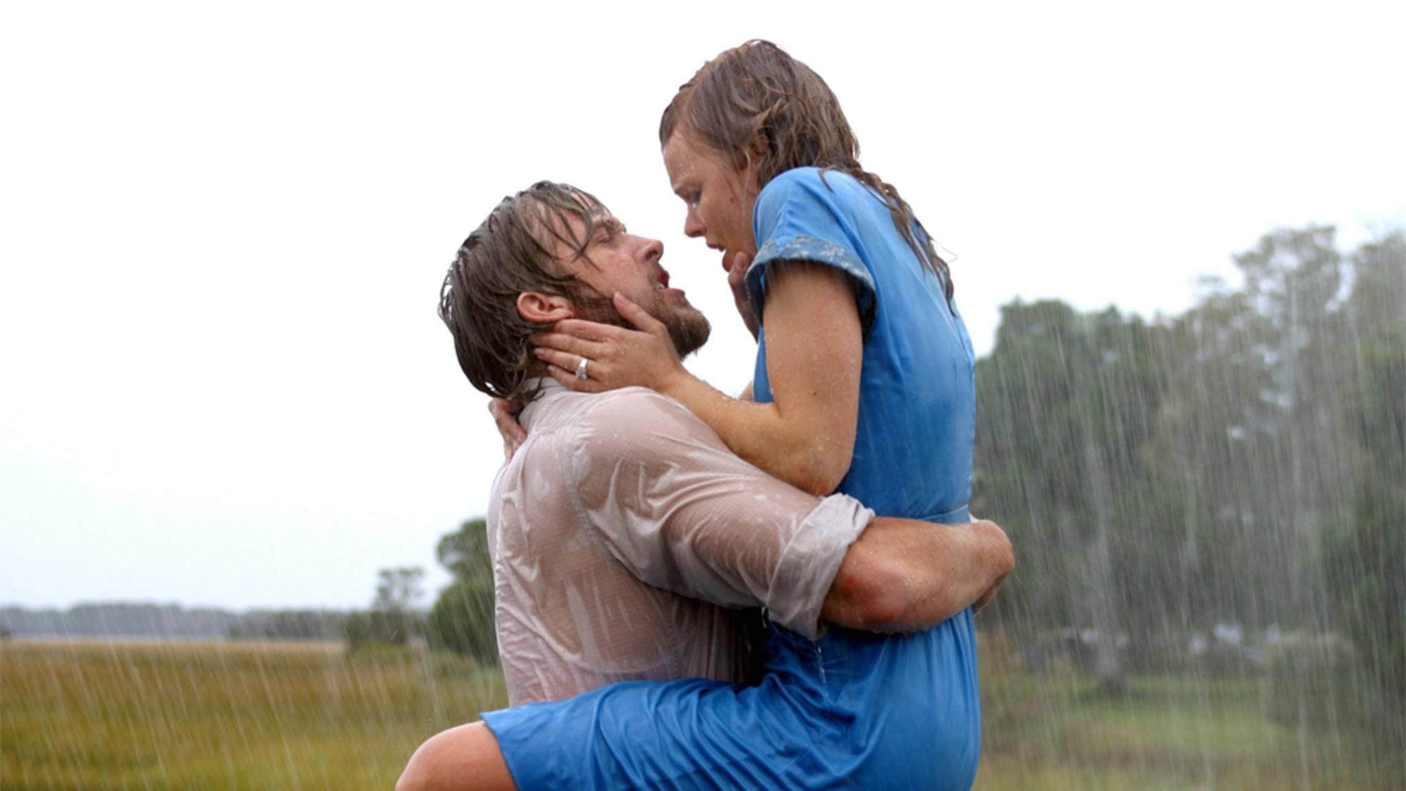 Küsse im Regen sind nur in Liebesfilmen romantisch.
