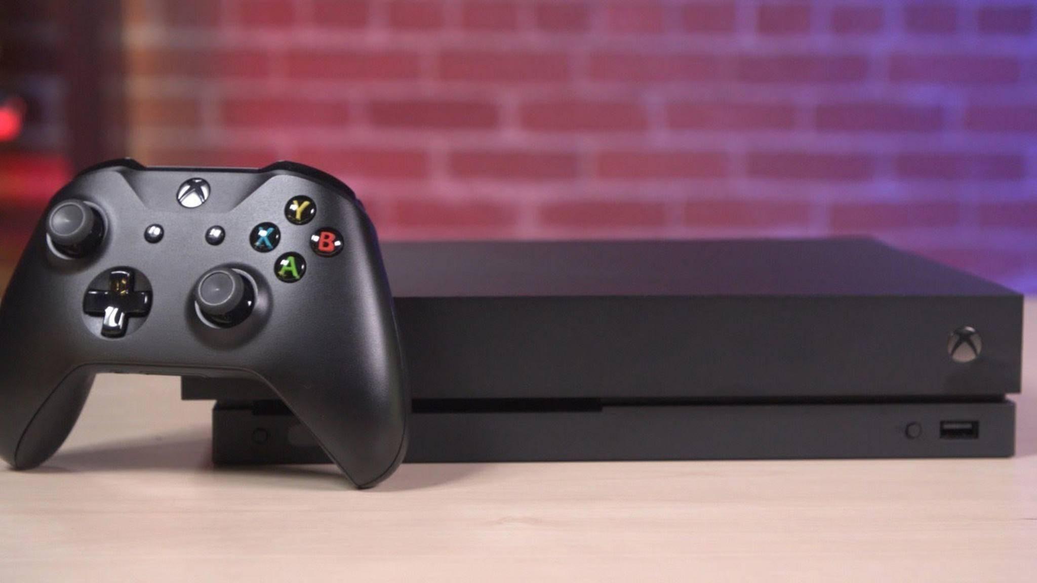 Xbox One X: Microsoft räumt mögliche Engpässe zum Launch ein