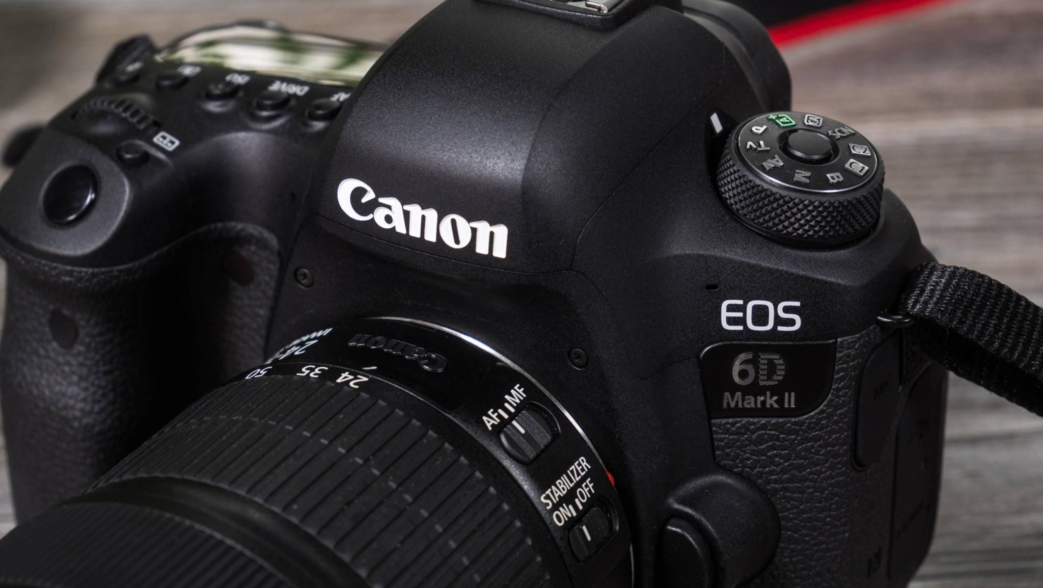 Canon könnten seinen Kameras und Objektiven bald Fingerabdrucksensoren spendieren.