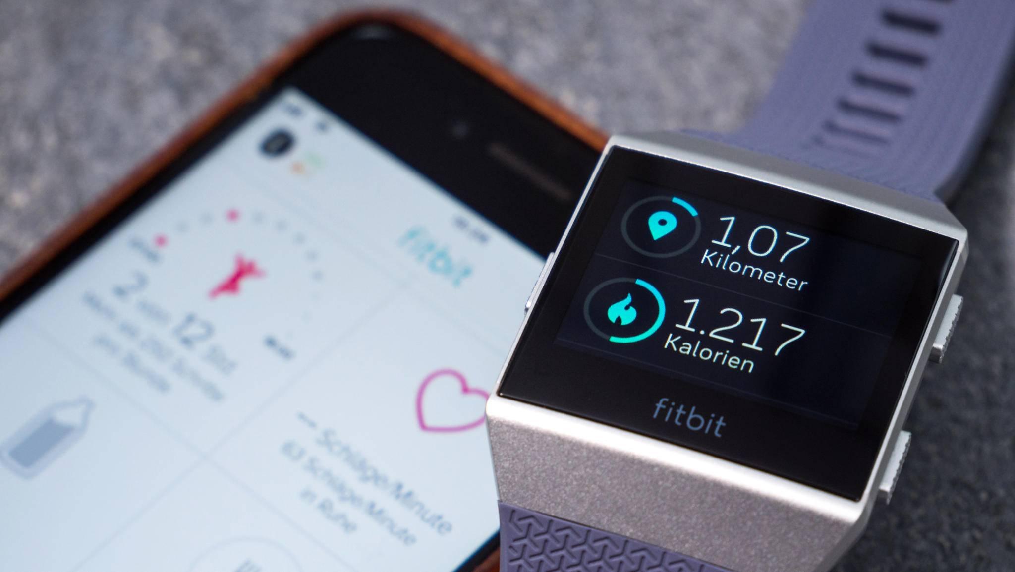 Auf der Uhr selbst können die Daten auch überprüft werden.
