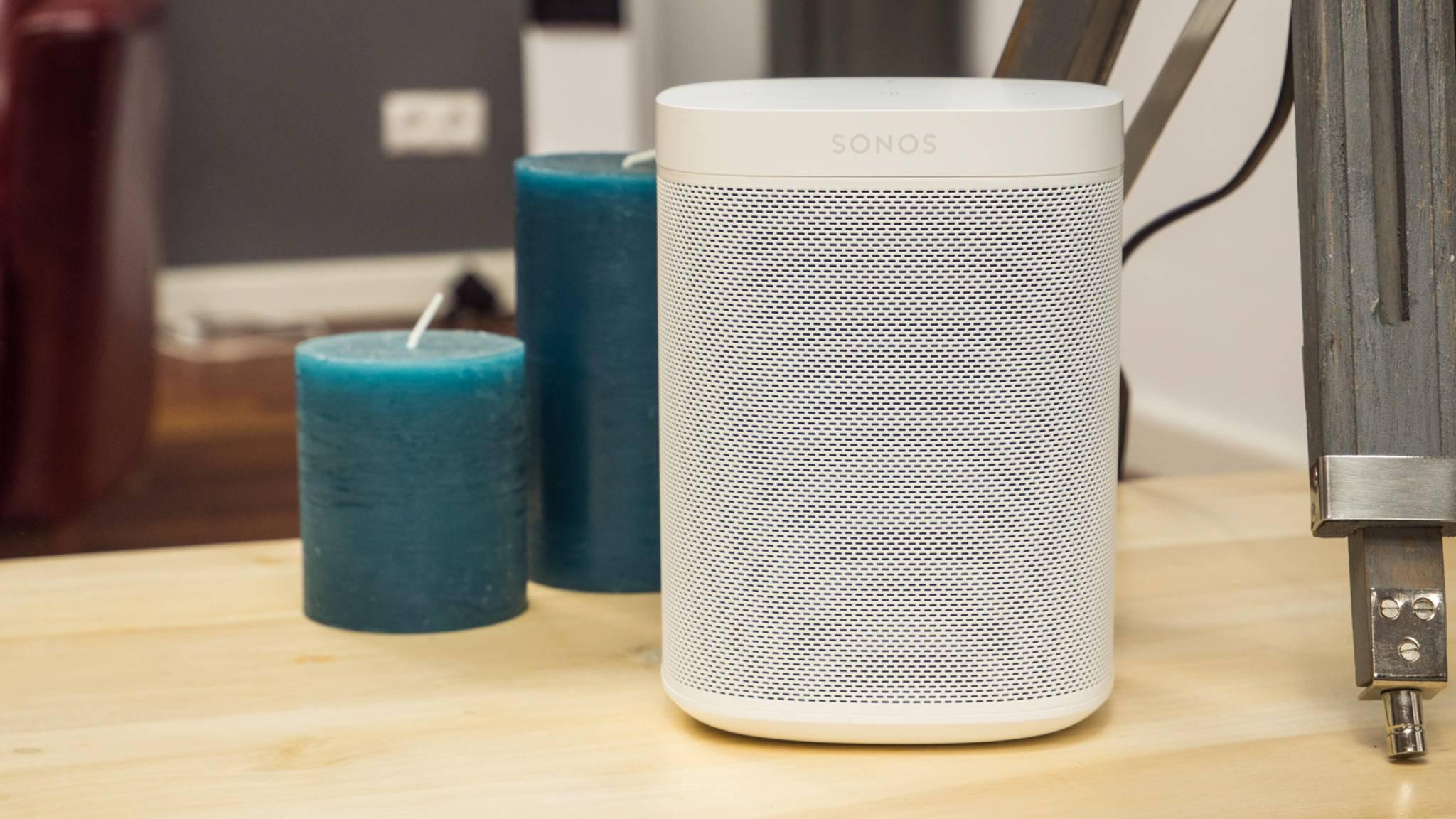 Wird per Update fit für den neuen AirPlay-2-Standard gemacht: der Sonos One.