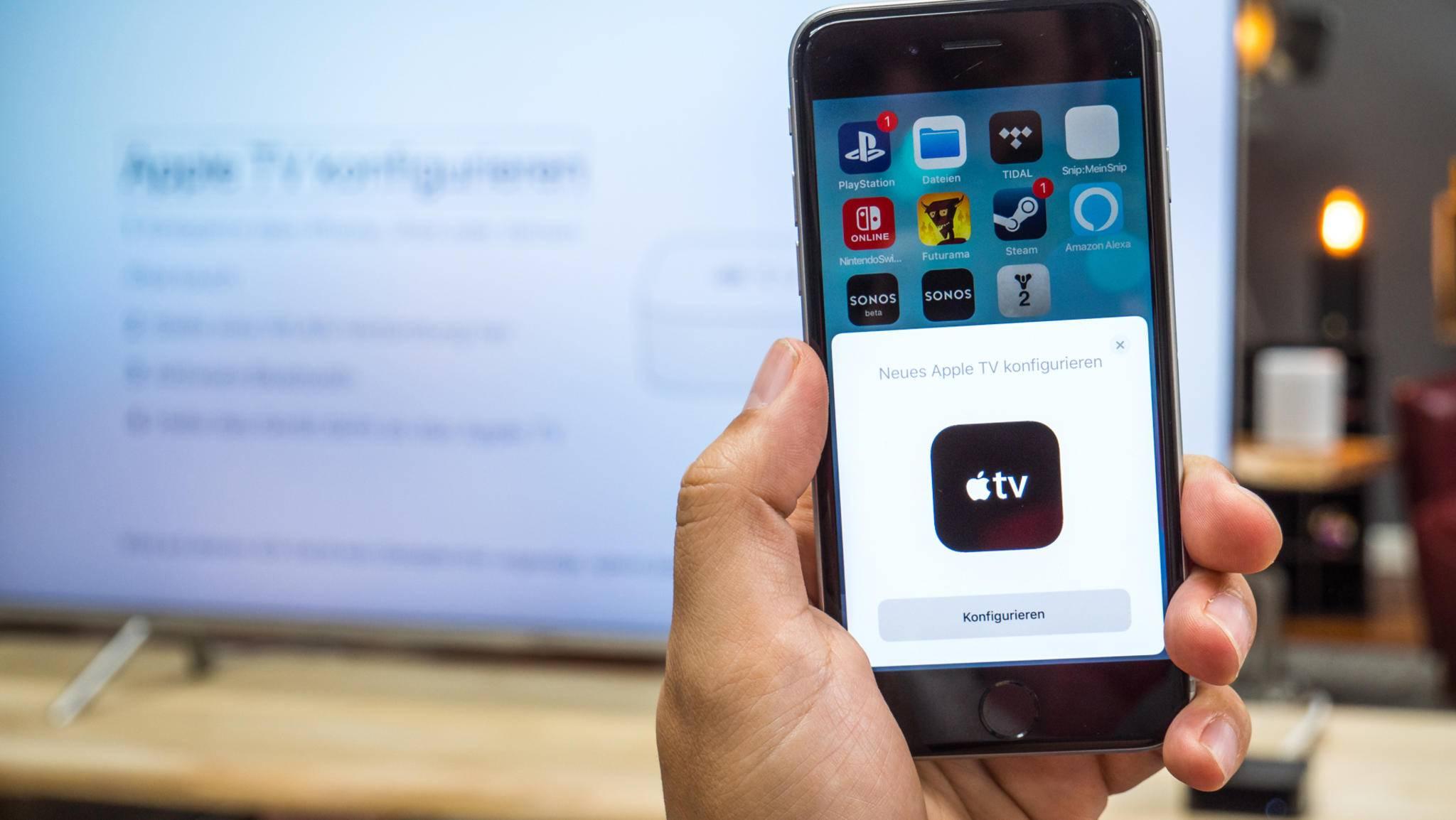 Apple sieht sich im Streaming-Markt starker Konkurrenz in Form von Amazon, Netflix oder Hulu gegenüber.