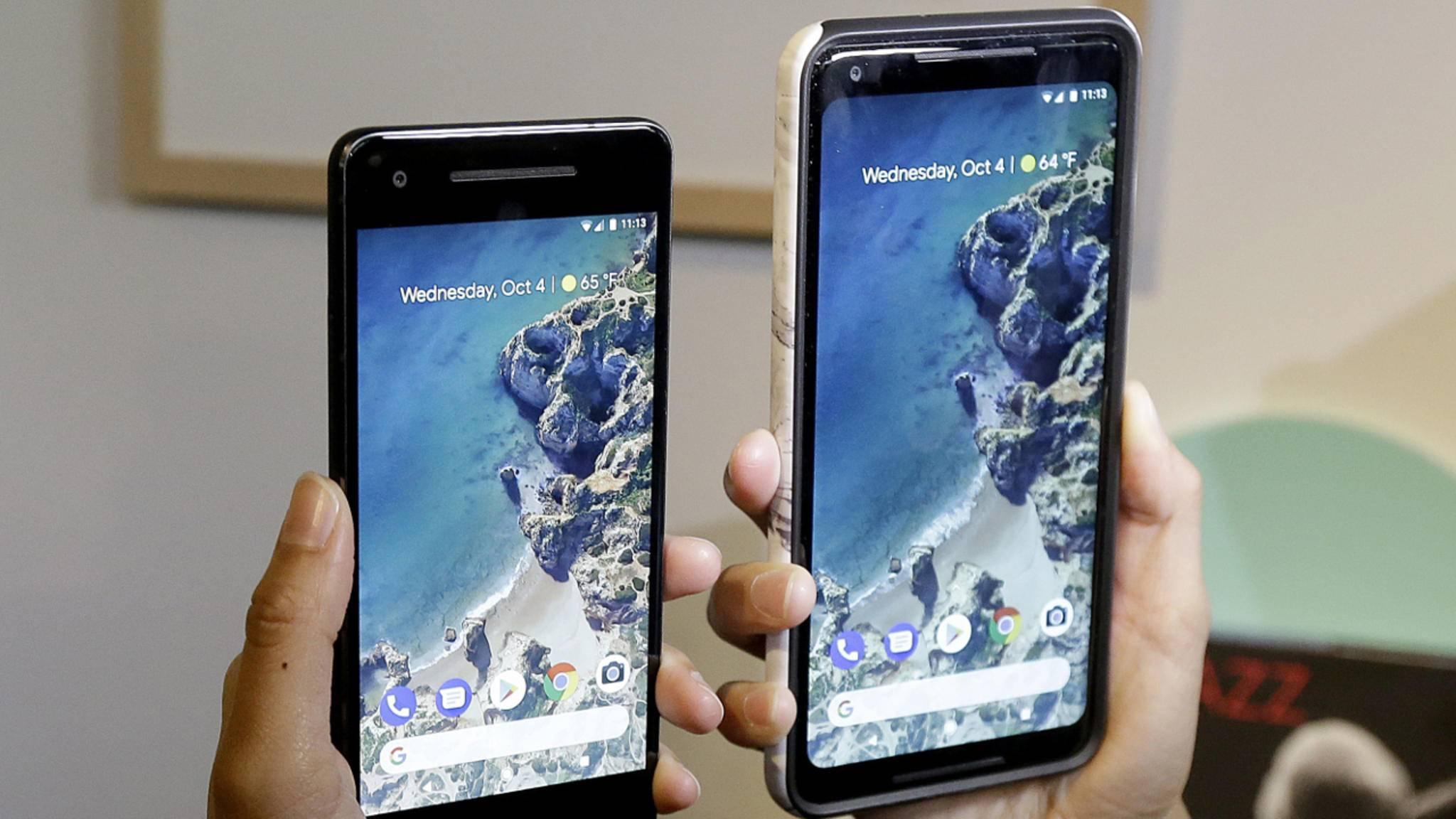 Das Pixel 2 und das Pixel 2 XL wurden am Mittwochabend vorgestellt.
