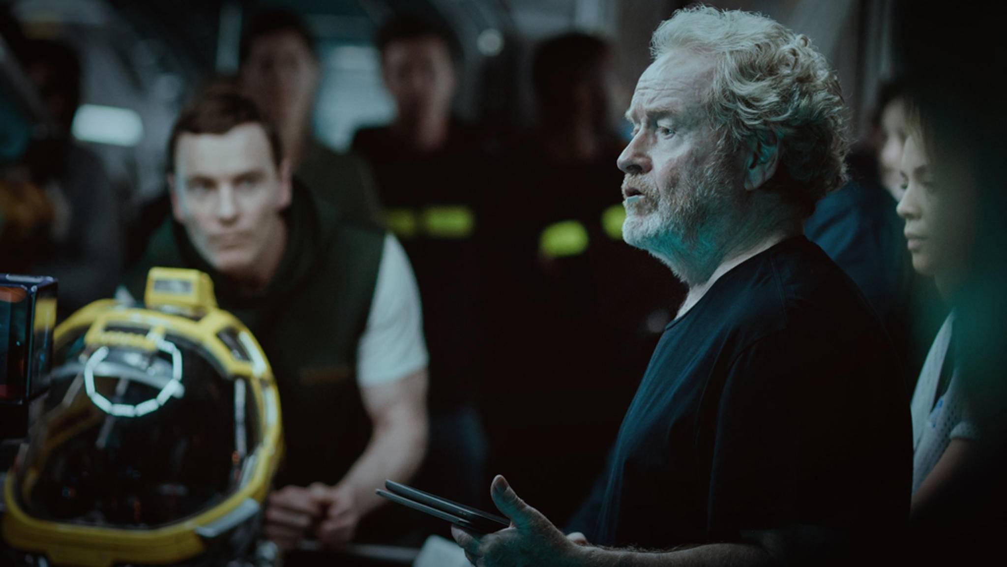 Ridley Scott hat mit Android David (Michael Fassbender) wohl große Pläne.