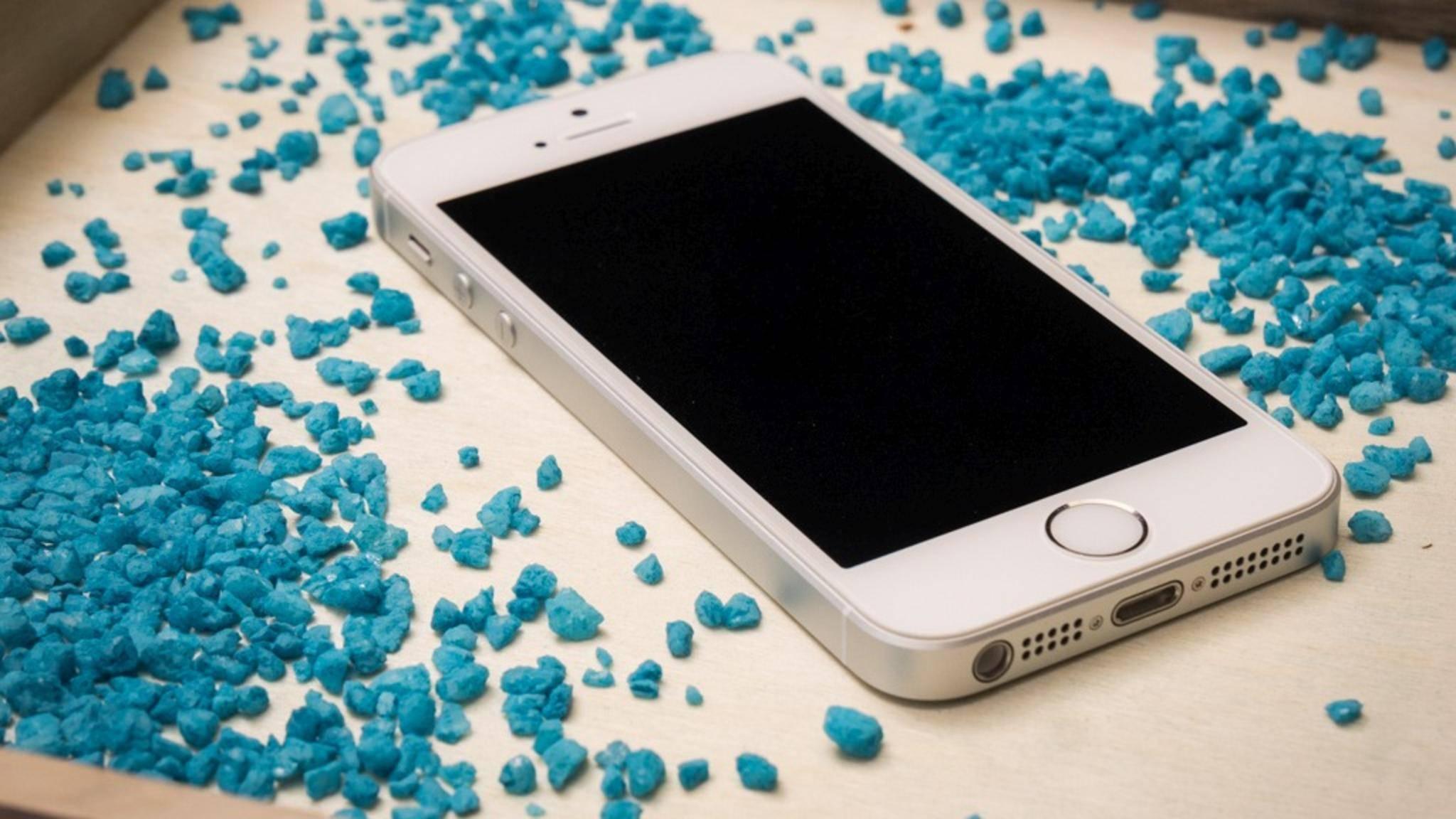 Gerade noch: Das iPhone 5s ist das älteste Gerät, das noch mit iOS11 kompatibel ist.