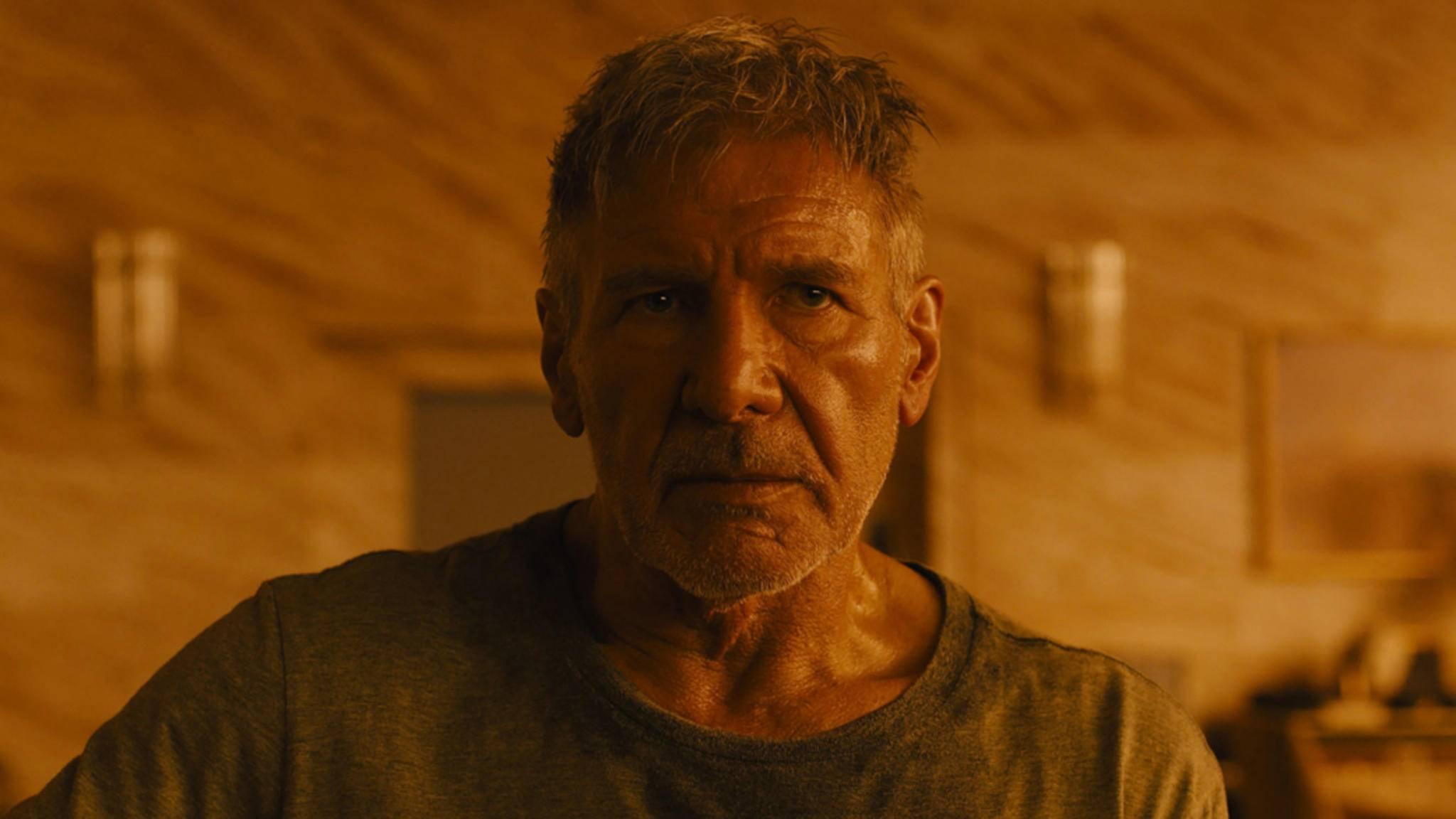 """Rick Deckard (Harrison Ford) sollte in """"Blade Runner 2049"""" eigentlich ein wirklich schlimmes Schicksal erwarten."""