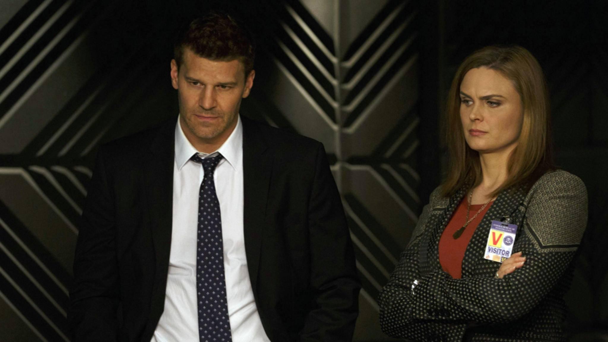 Nach 12 Jahren ist auch Brennan alias Bones (rechts) in TV-Rente gegangen.