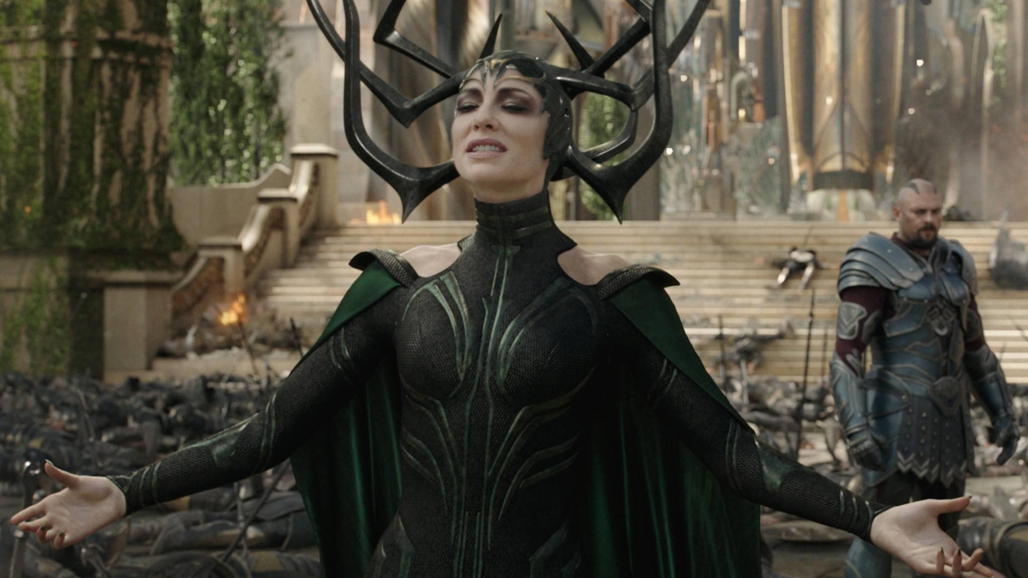 """Auch als Marvel-Schurkin in """"Thor: Tag der Entscheidung"""" gibt Cate Blanchett eine gute Figur ab."""