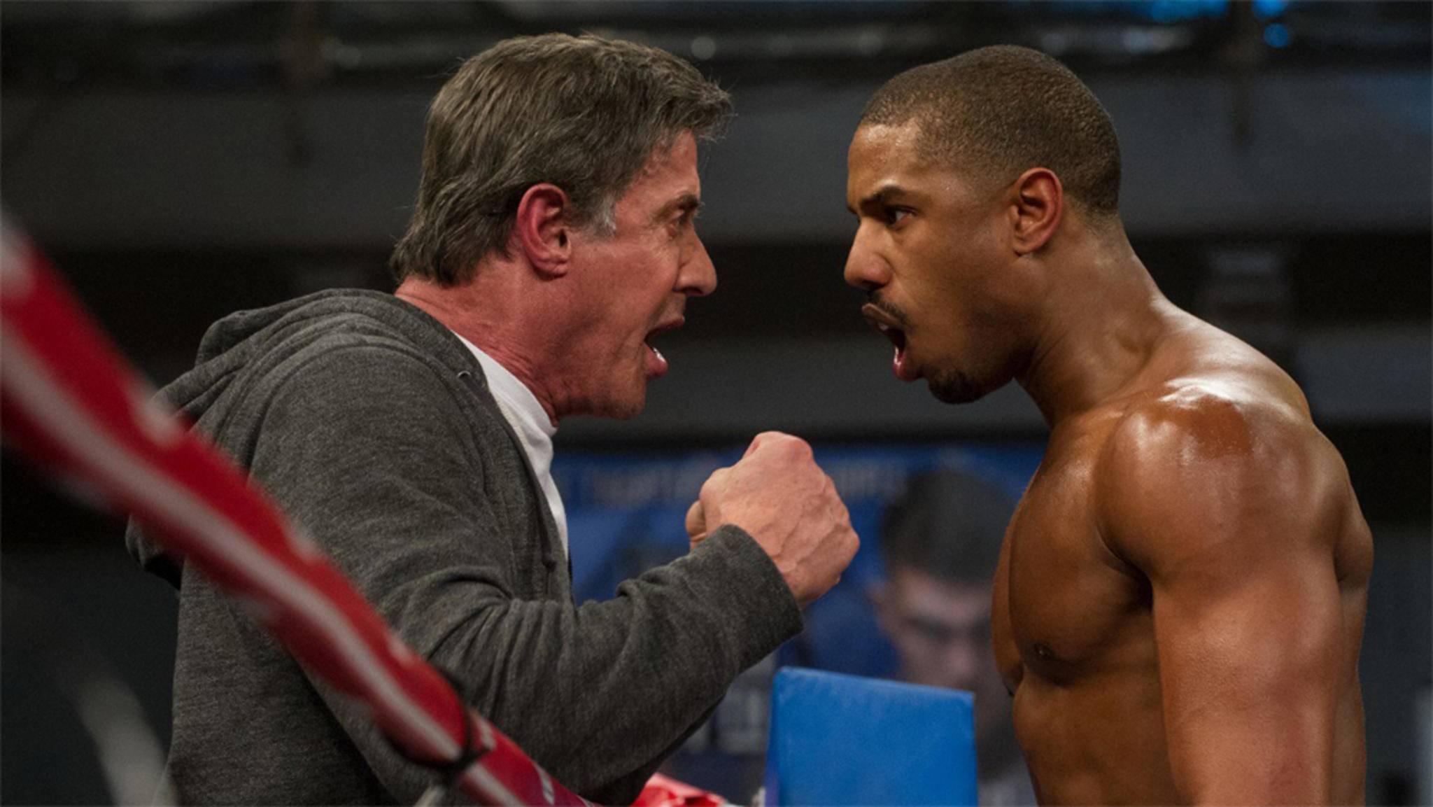 """Er mag zwar nicht selbst in den Ring steigen, doch """"Creed 2"""" wird ein echter Sylvester-Stallone-Film."""