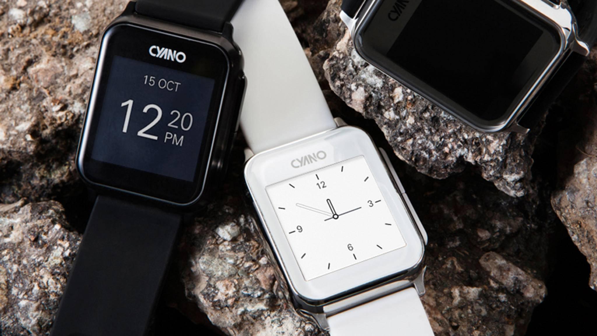 Zeit zum Abtauchen: Auf den ersten Blick wirkt Cyano wie jede andere Smartwatch.