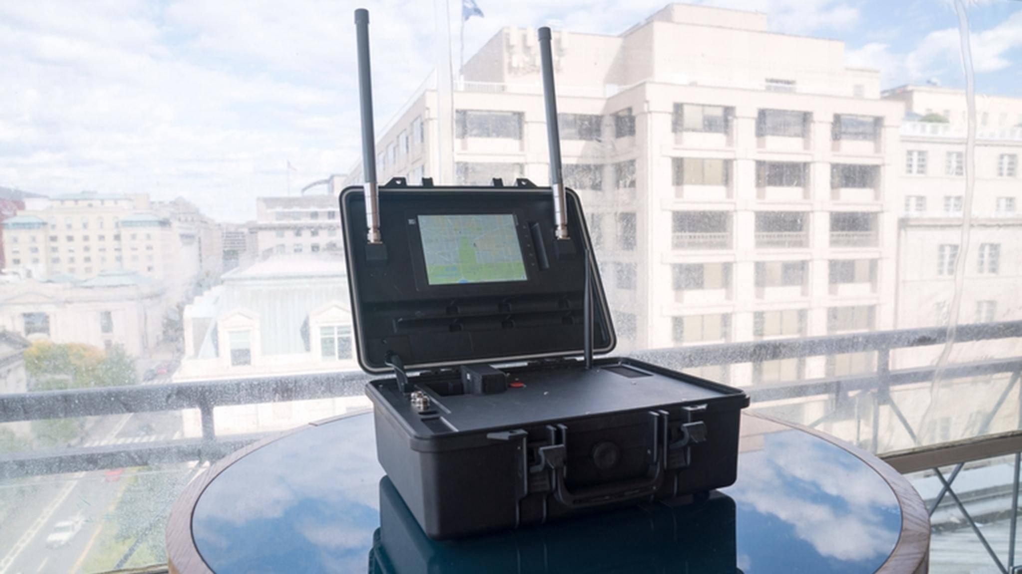 Der AeroScope kann DJI-Drohnen tracken.