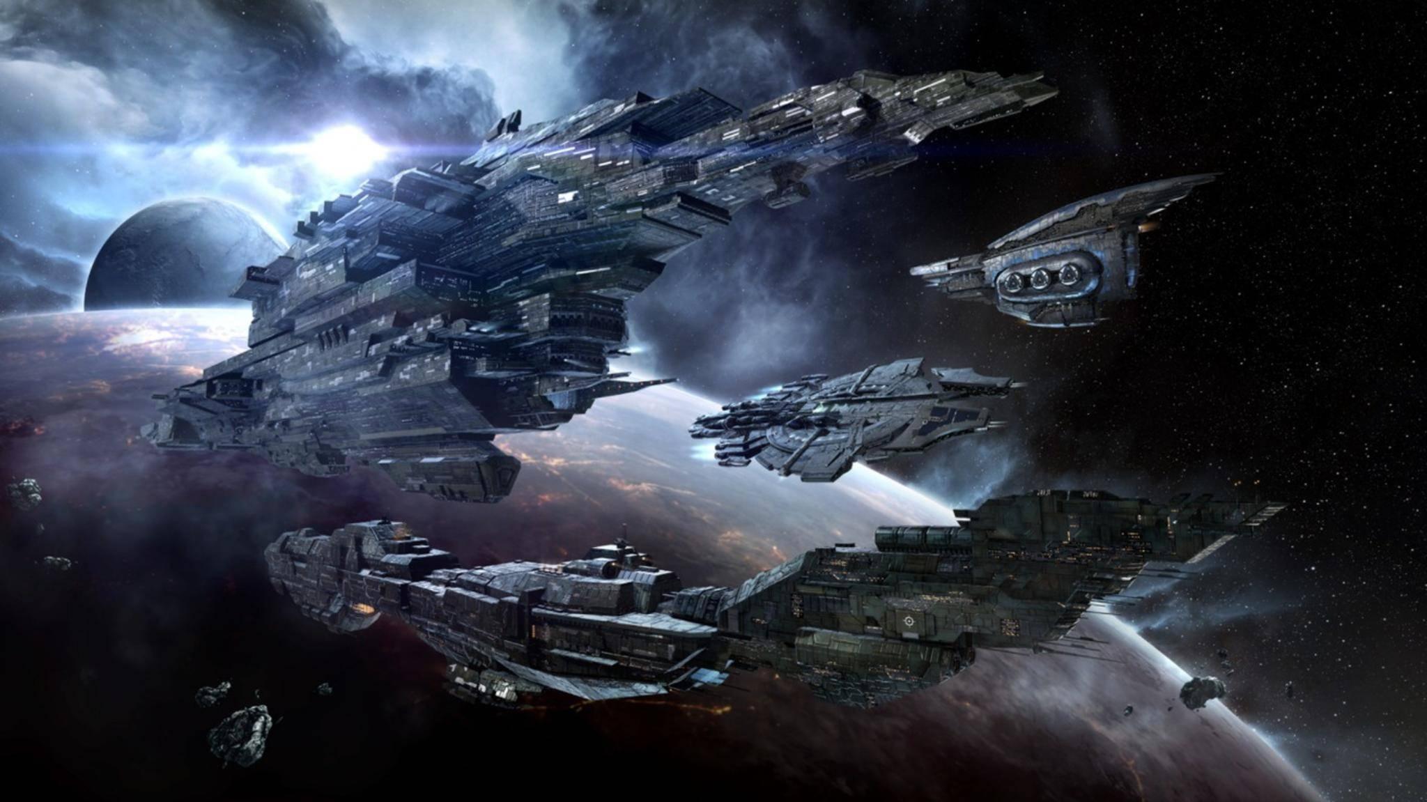"""Deine Möglichkeiten sind in """"Eve Online"""" so grenzenlso wie die Tiefen des Alls."""